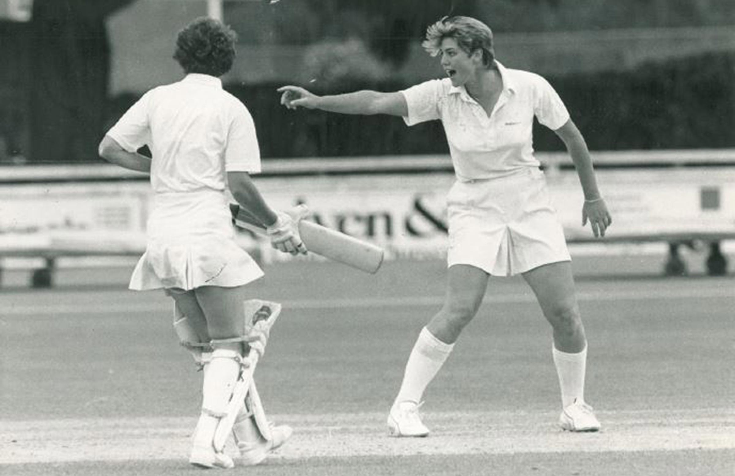 Goss was a pioneer of the women's game // WACA
