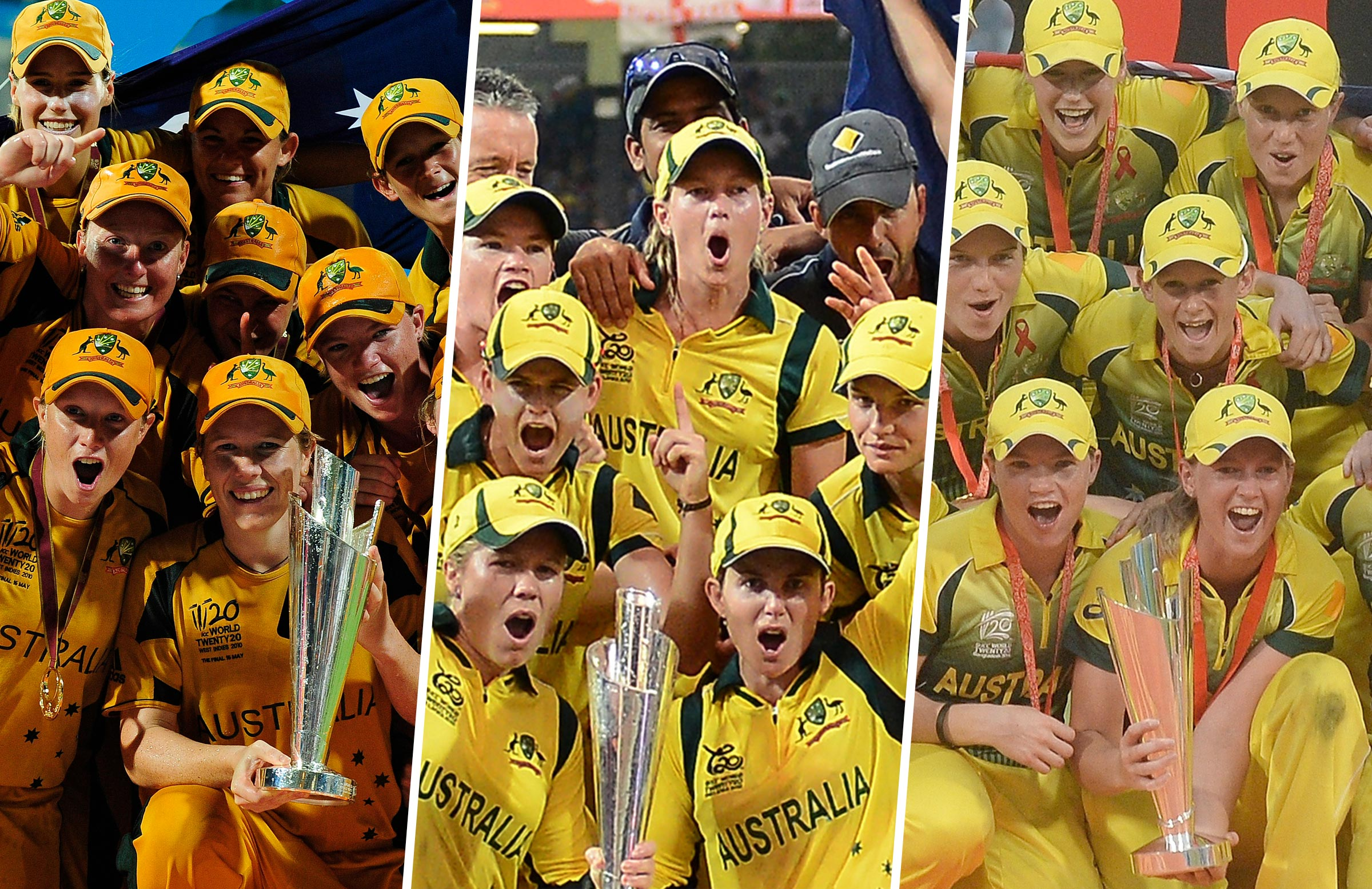 Australia took out the 2010, 2012 and 2014 titles in gold // Getty