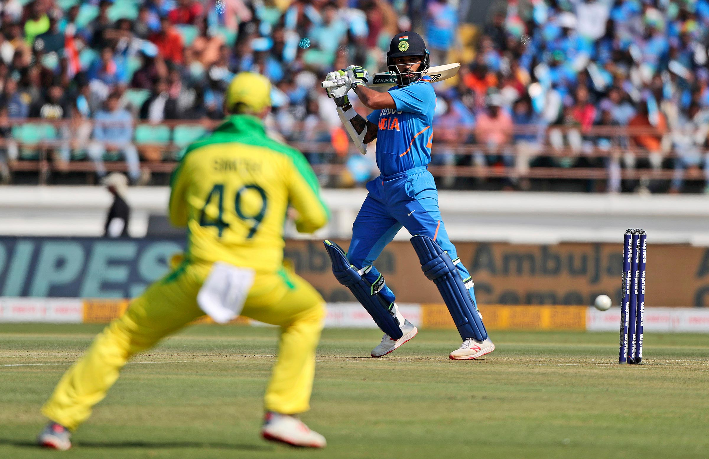 Dhawan gave India a flying start // AAP