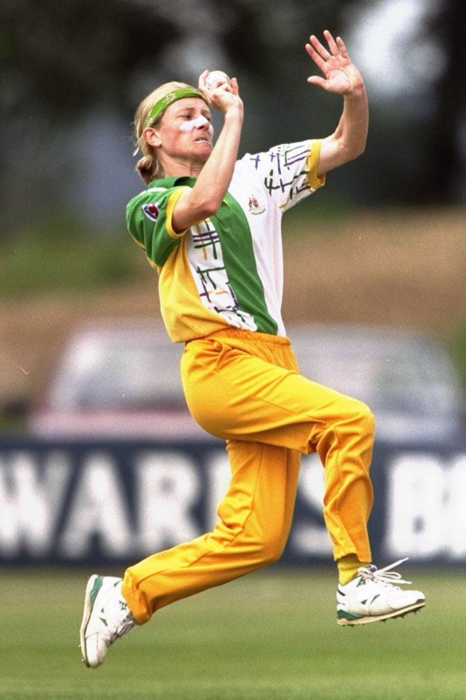 Fitzpatrick in action for Australia in 1998 // Getty