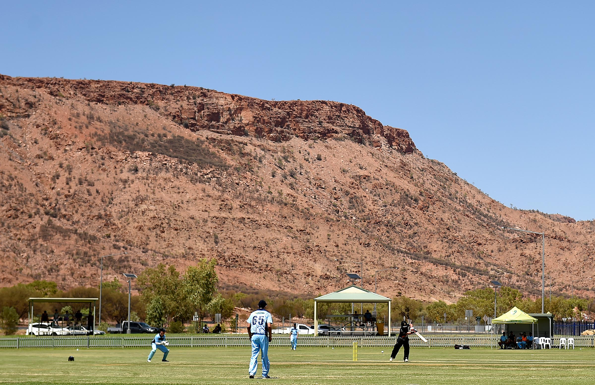 Traeger Park in Alice Springs is hosting the NICC // Getty