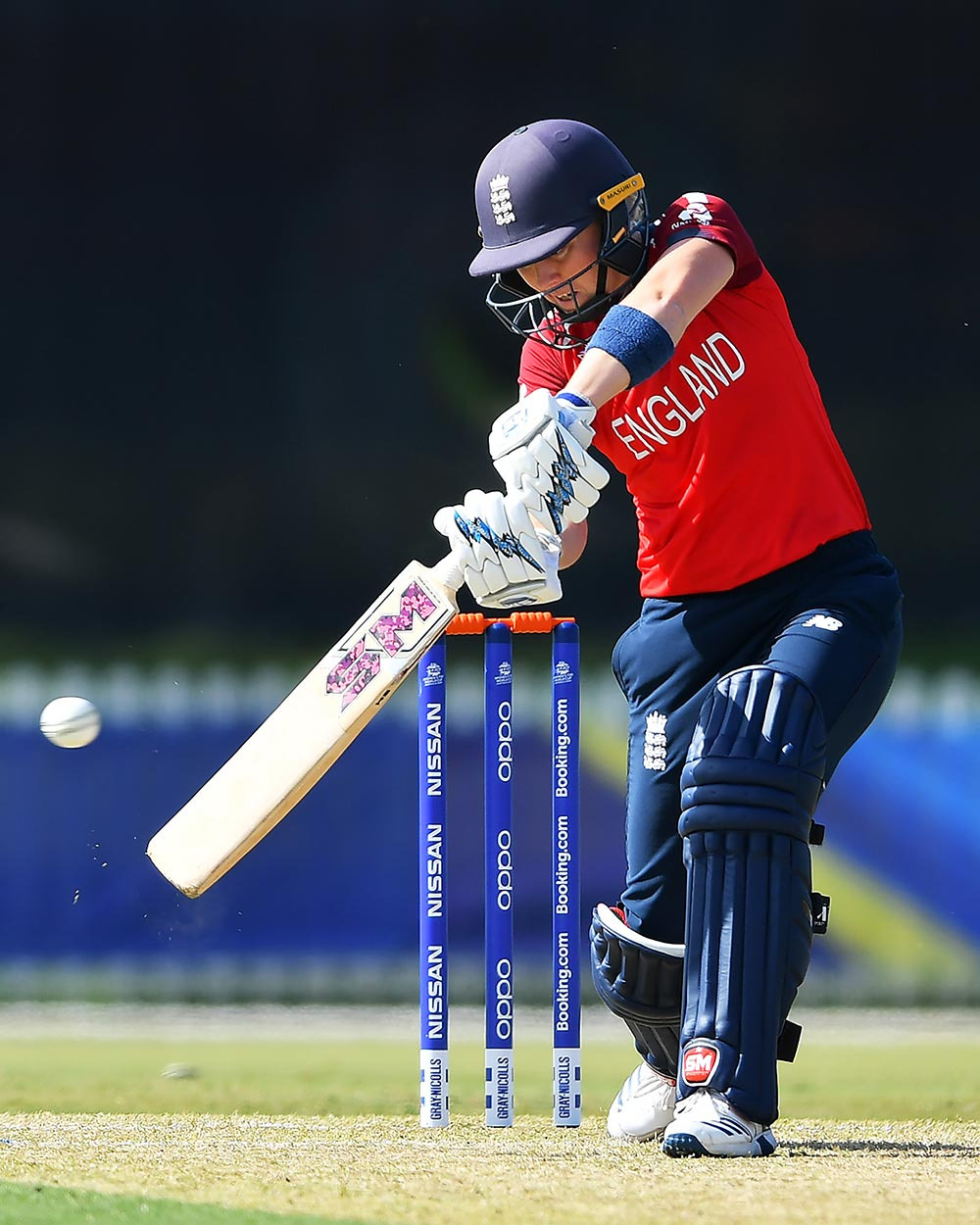 Heather Knight's 45 runs came in 36 ball // ICC/Getty