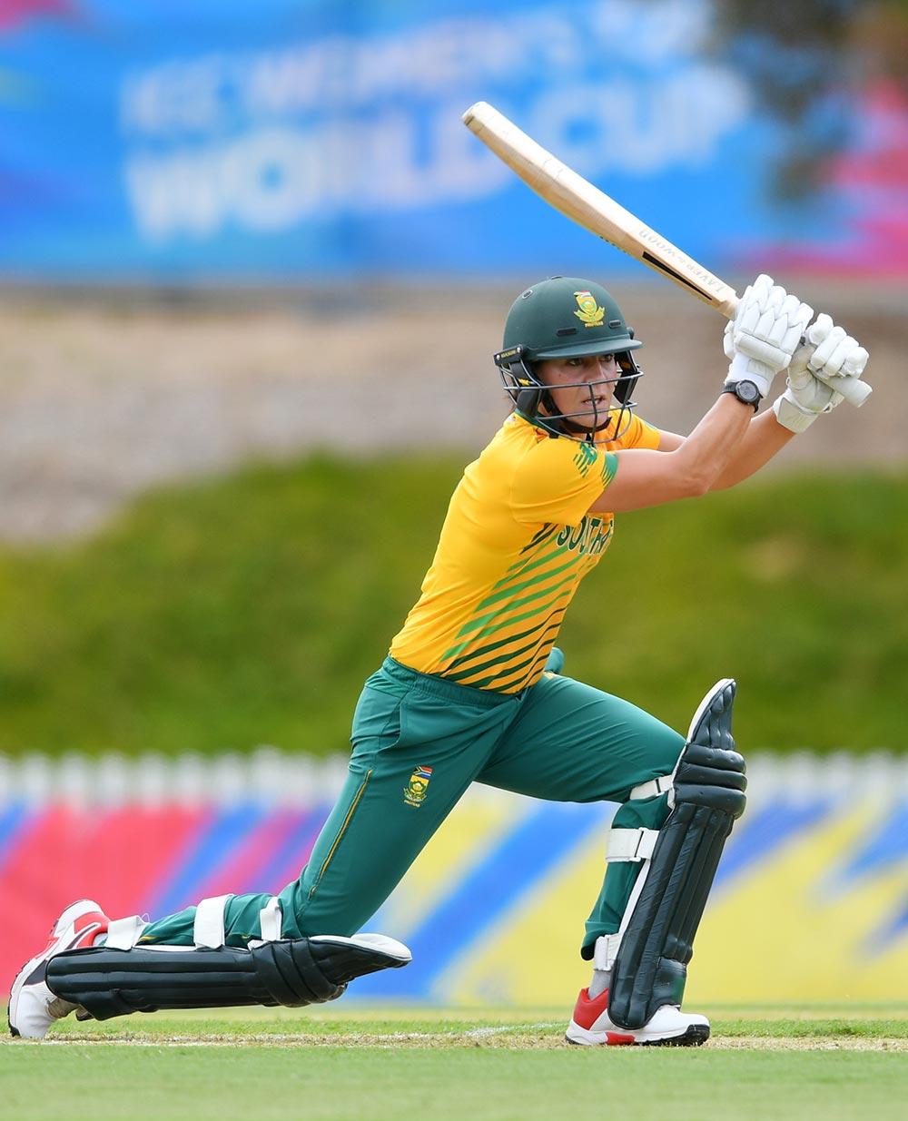 Marizanne Kapp smashed a run-a-ball 44 // ICC/Getty