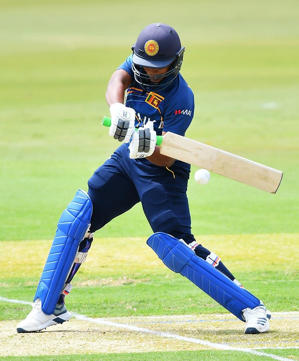 Opener Hasini Perera hit 22 for Sri Lanka // ICC/Getty