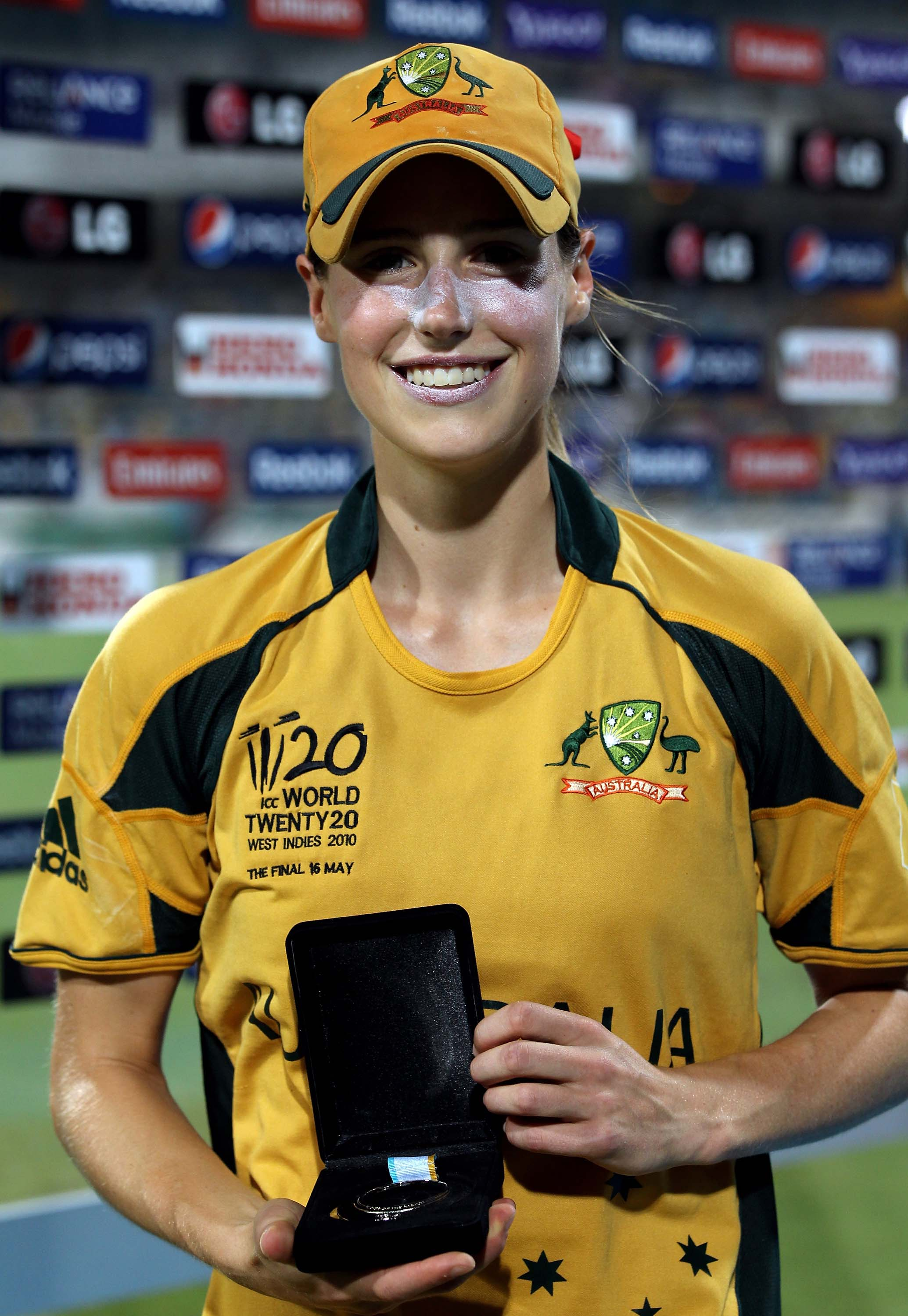 Perry was named player of the match in the final // Getty