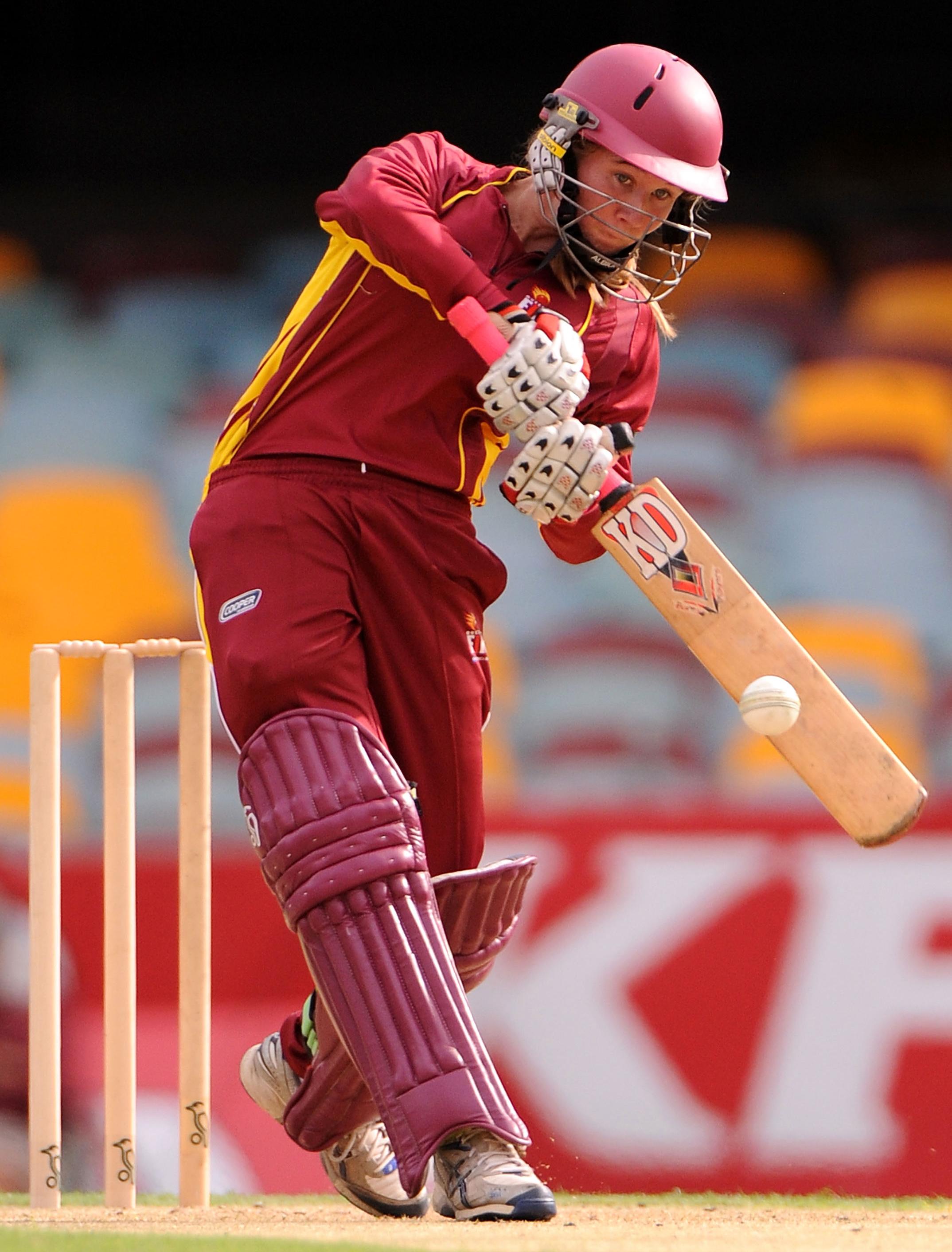 Mooney batting for Queensland back in 2011 // Getty