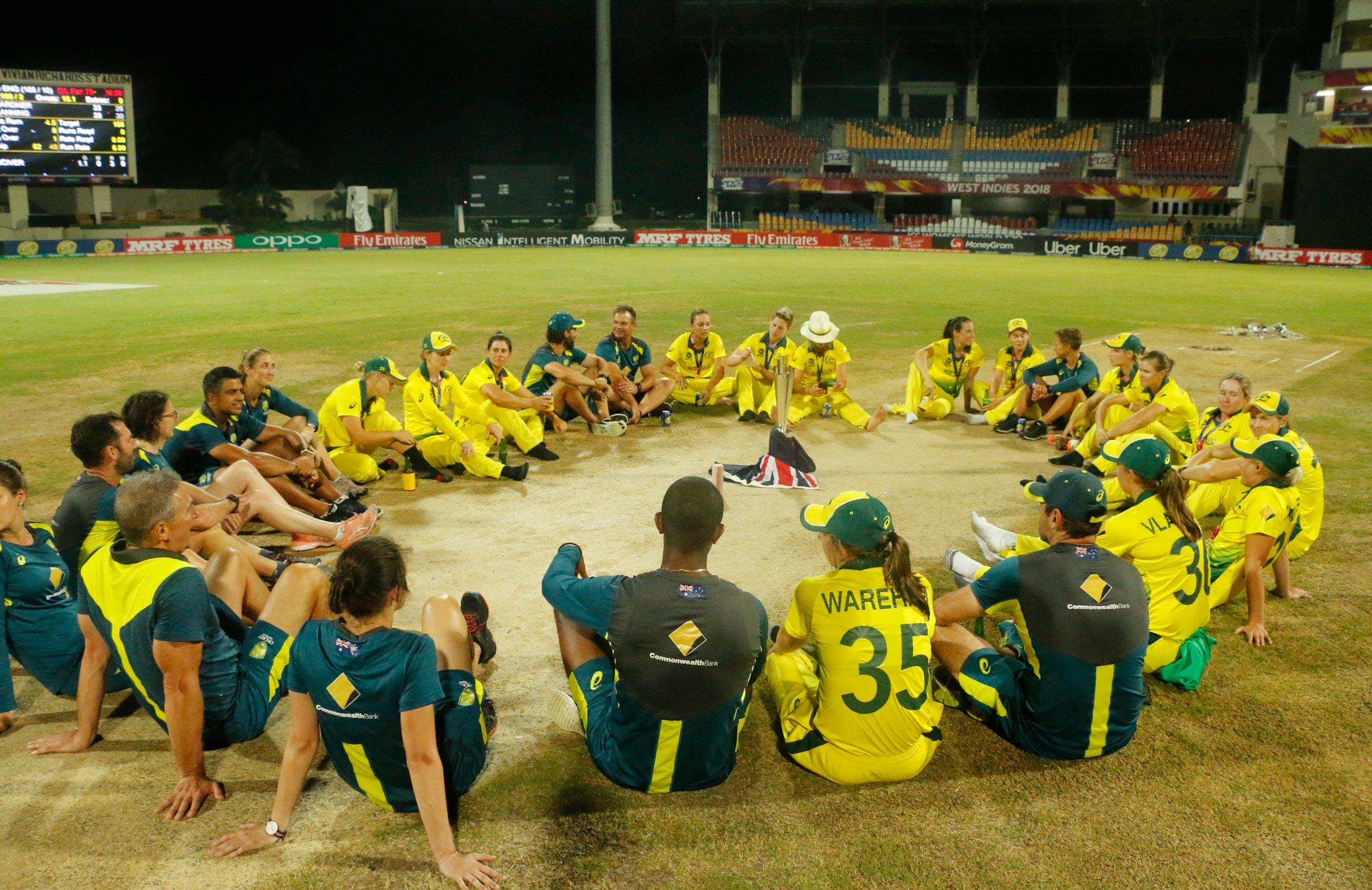 Champions again: Antigua, 2018 // Cricket Network