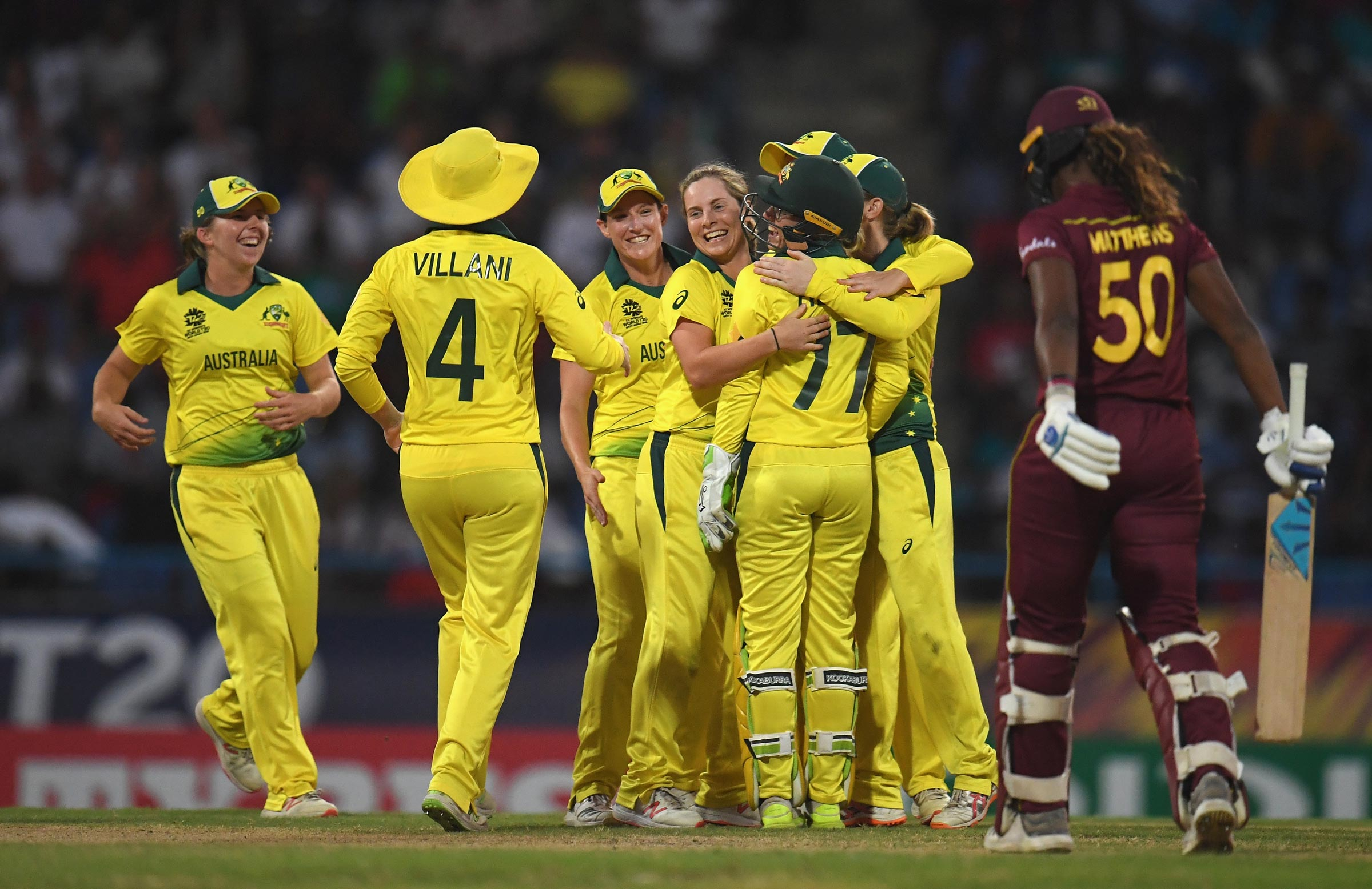 Australia seal their spot in the World Cup final // Getty