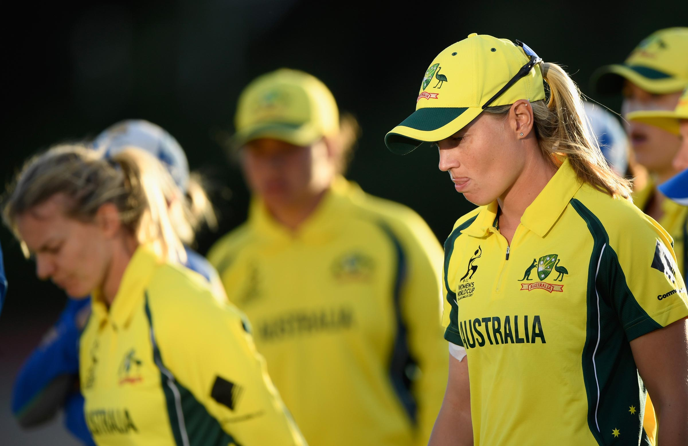 Shattered after a shock semi-final exit // Getty