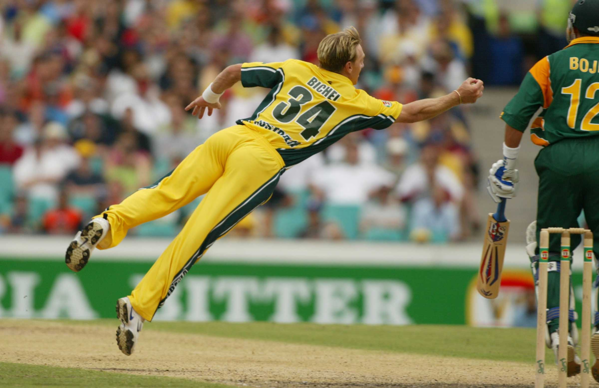Andy Bichel had become a more-than-handy back-up paceman // Getty