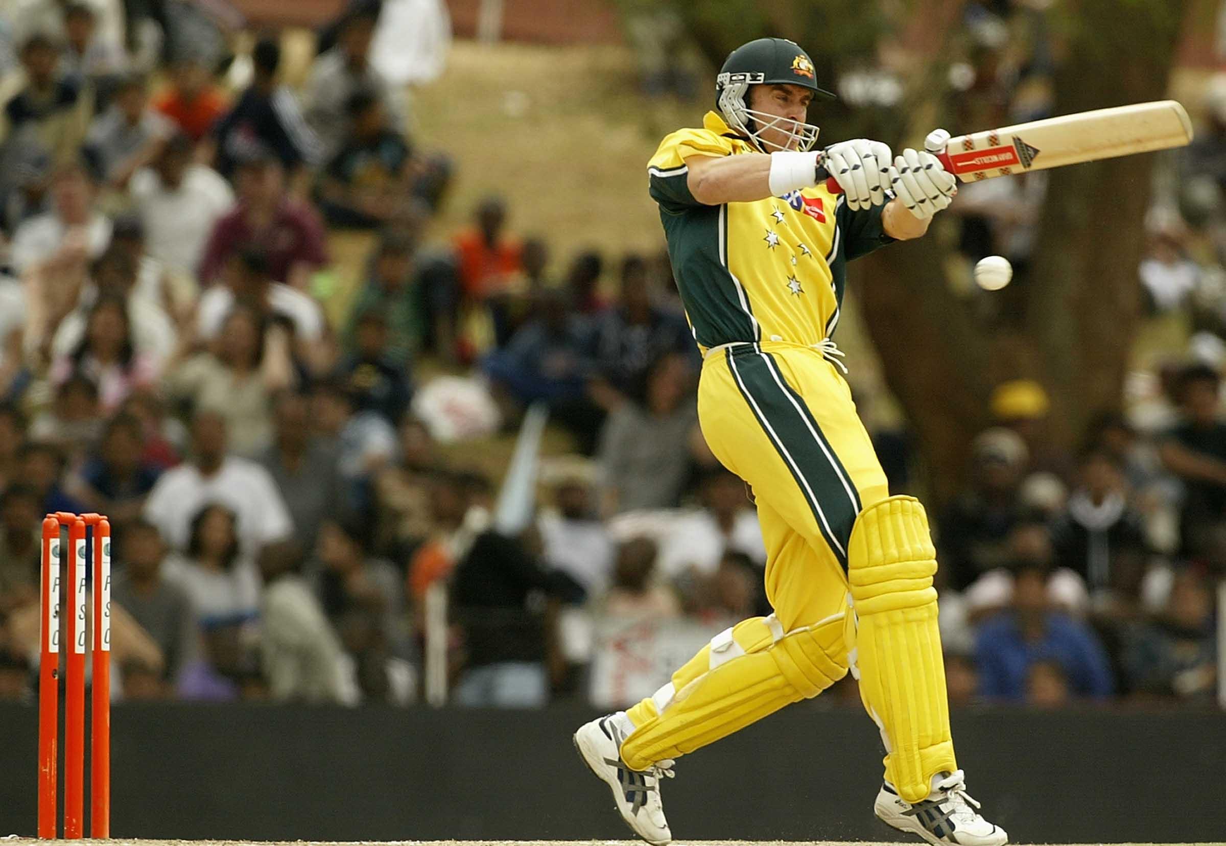 Matthew Hayden emerged as an ODI powerhouse in 2002 // Getty