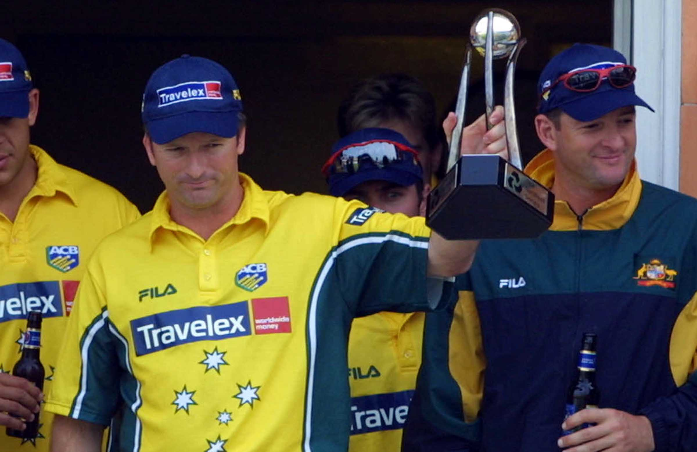 Lord's 2001: Steve and Mark Waugh after their final ODI series success // Getty