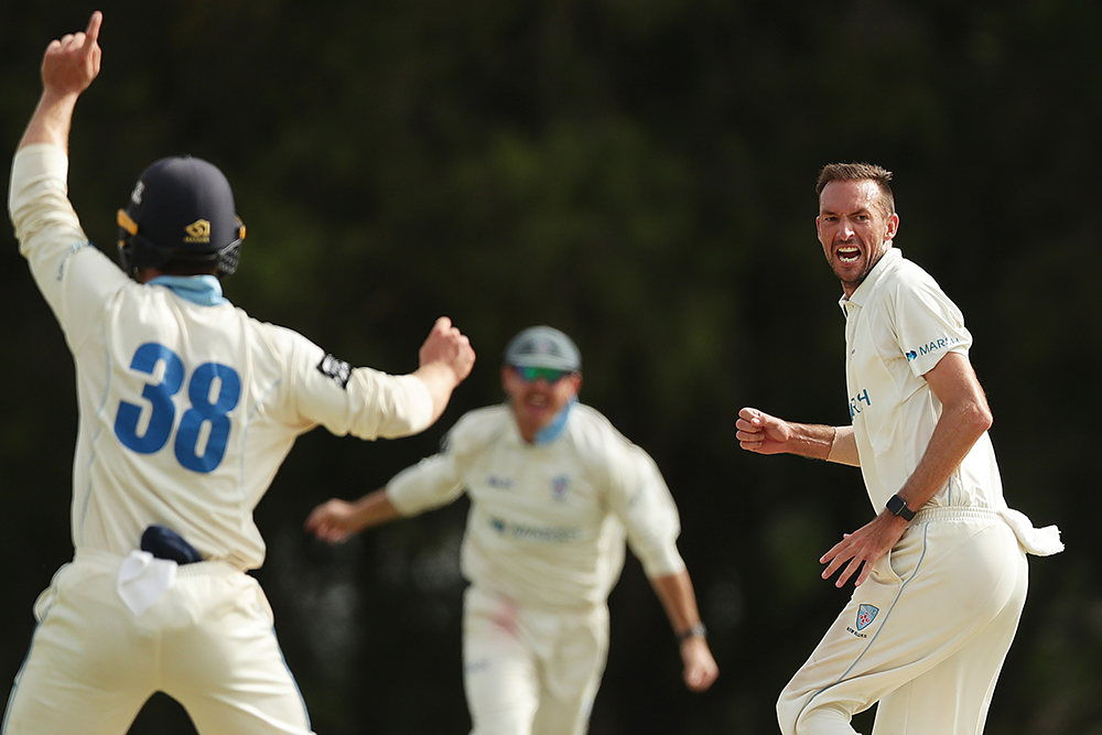 New South Wales have enjoyed a successful Marsh Sheffield Shield campaign // Getty