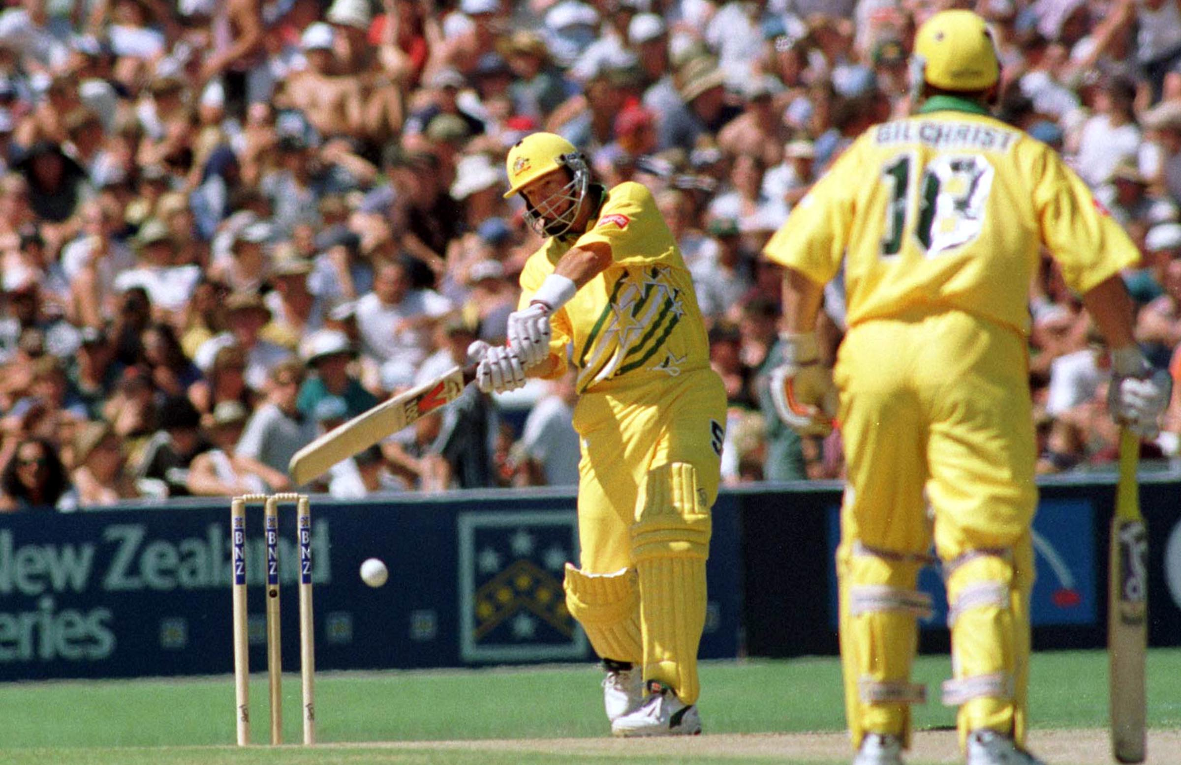 Mark Waugh has been in imperious form since last year's World Cup // Getty