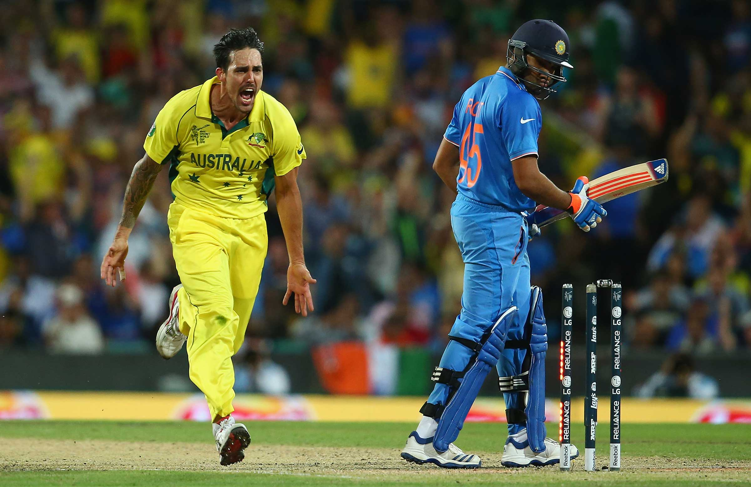 On a rampage in the semi-final against India // Getty