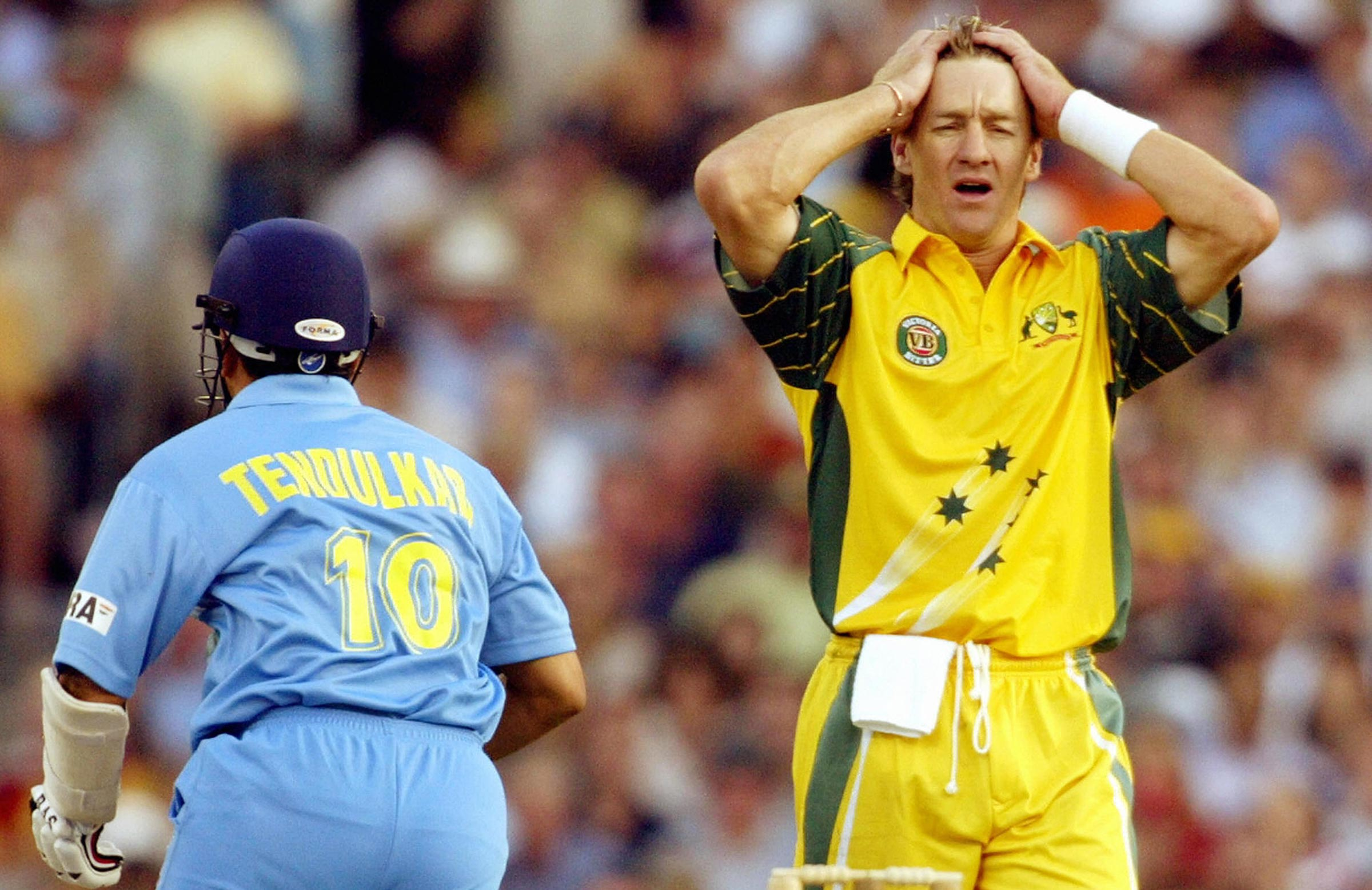 The early games in the 2003-04 ODI tri-series were tightly fought // Getty