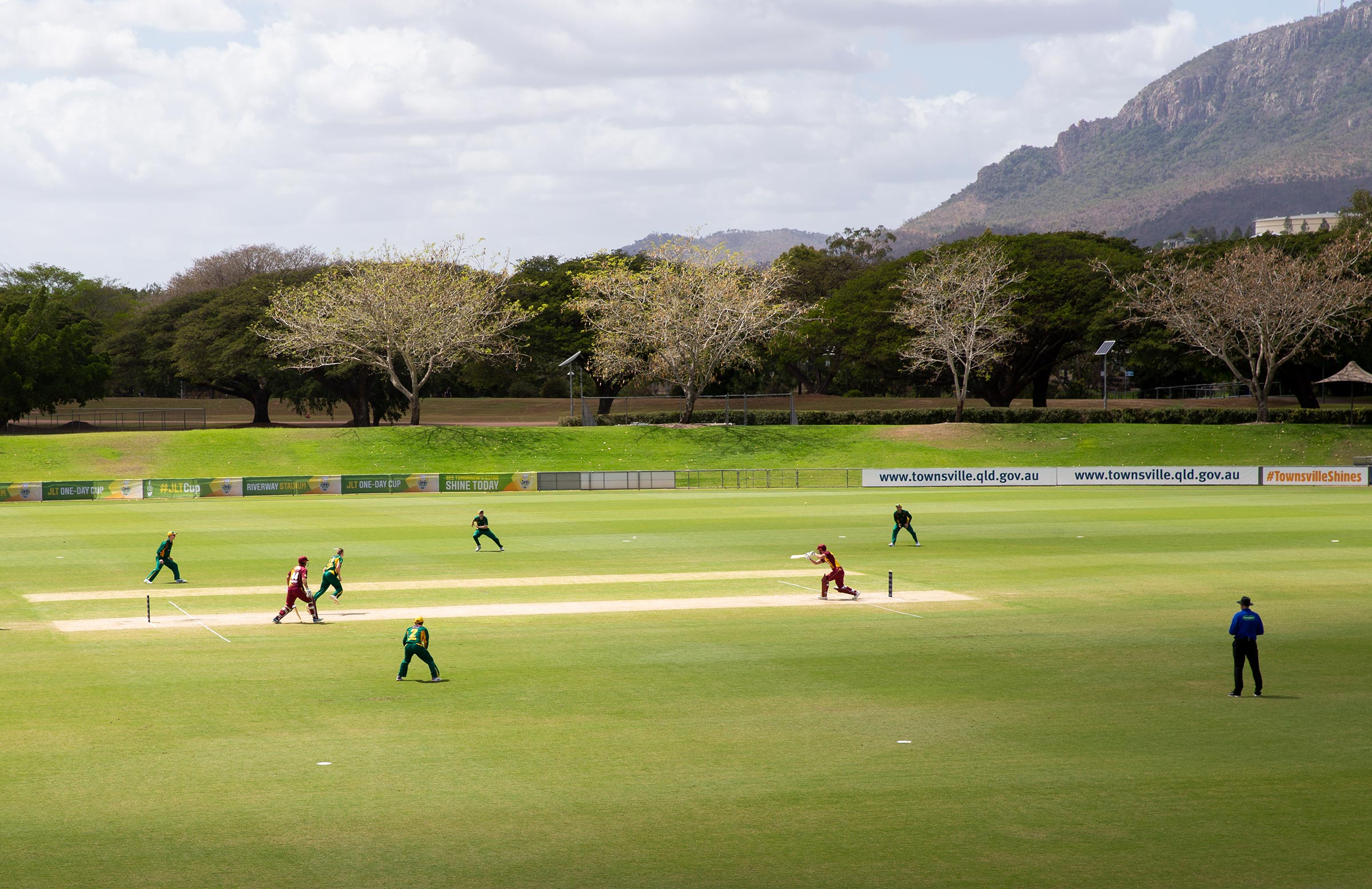 Townsville has hosted some domestic cricket in recent years // AAP