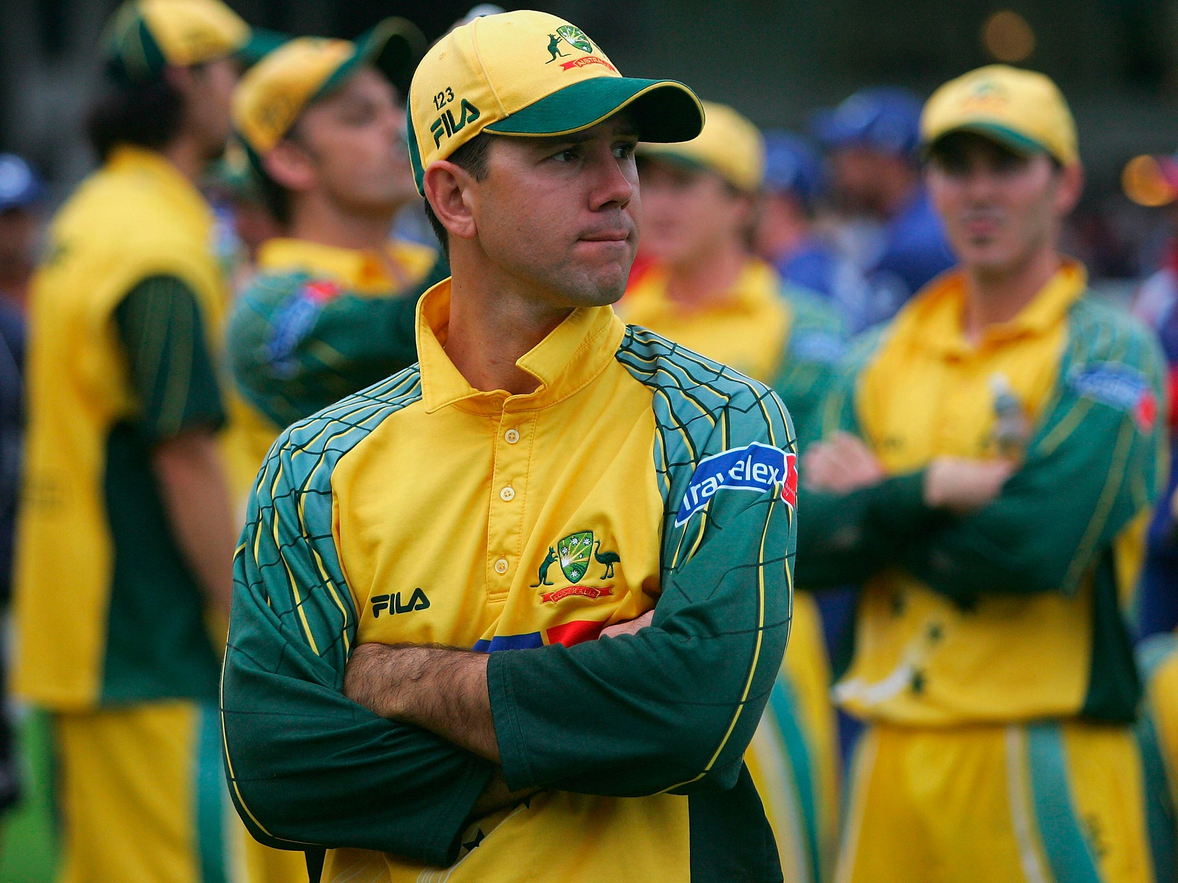Ricky Ponting at the end of a chaotic NatWest Series // Getty