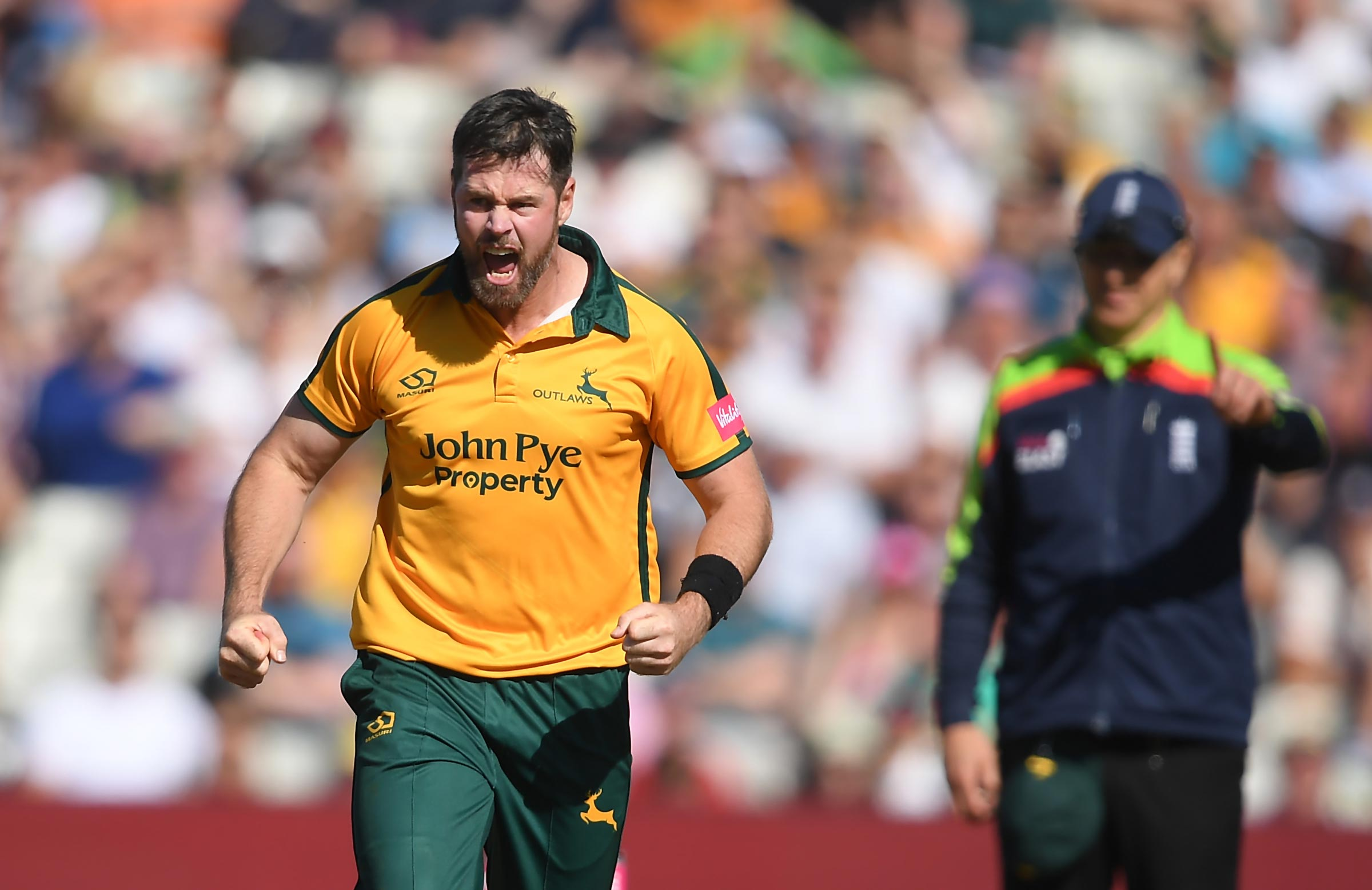 Dan Christian in action for Notts Outlaws // Getty
