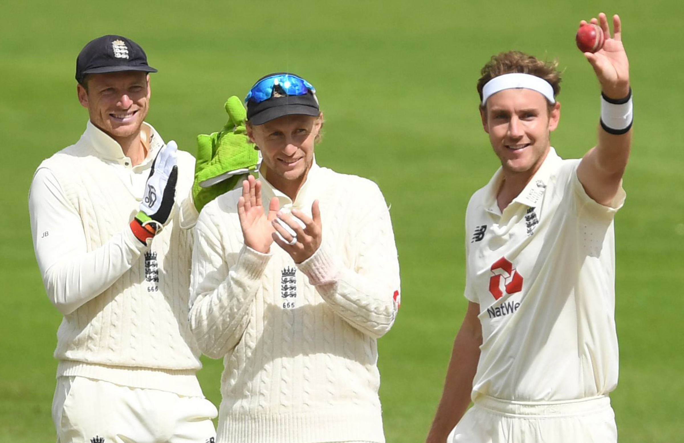 Broad reached the milestone in his 140th Test // Getty