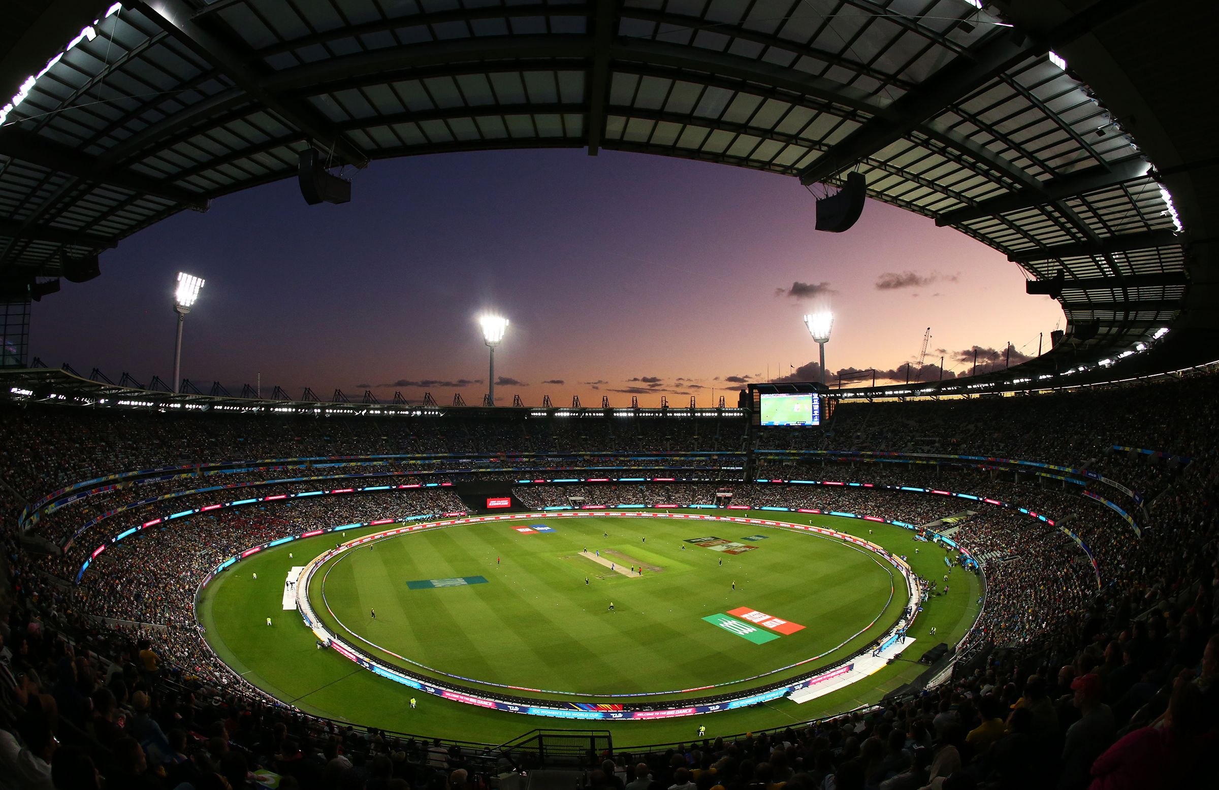 The MCG hosted 86,174 fans for the women's World Cup final in March // Getty