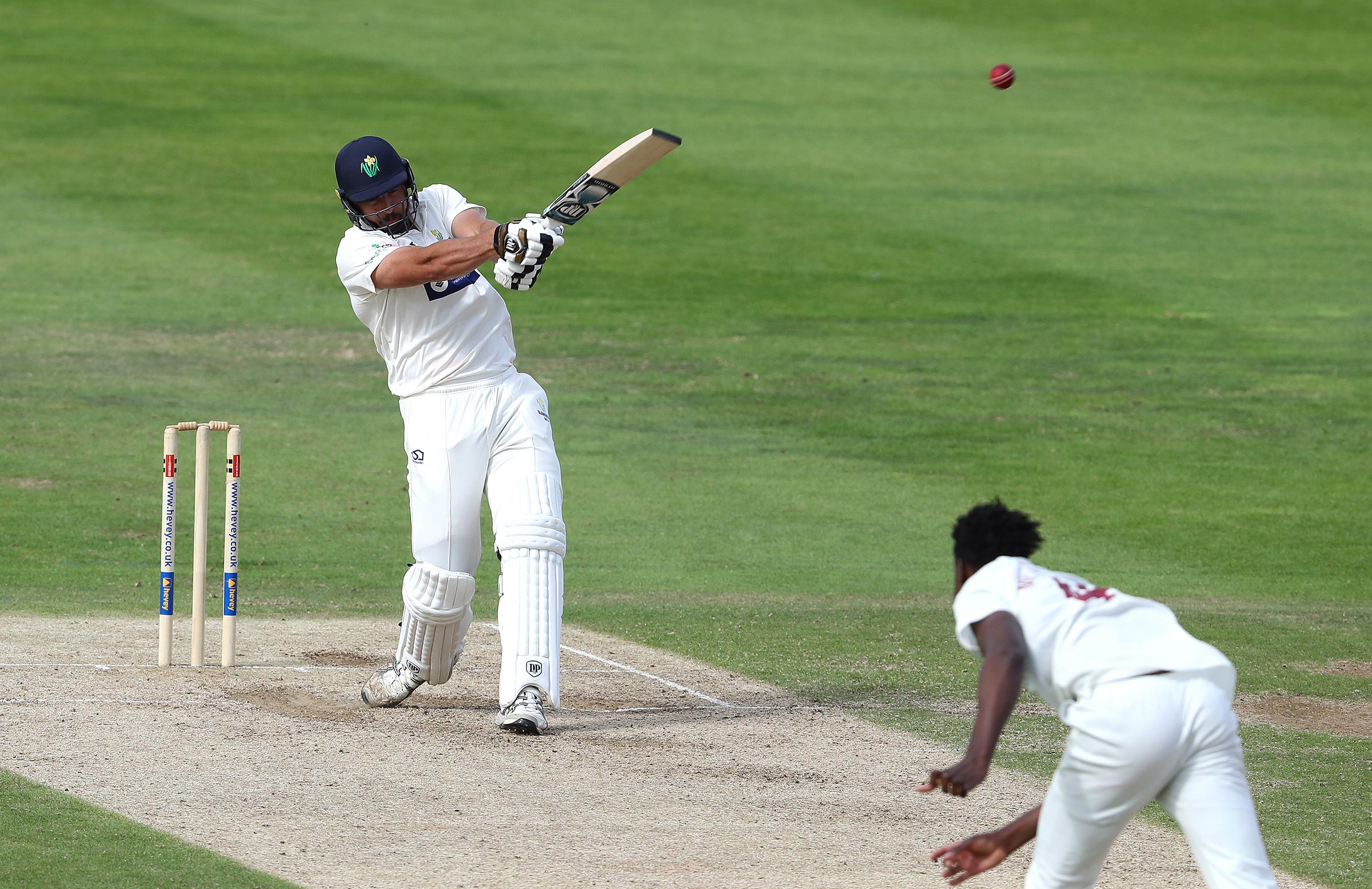 De Lange goes on the attack // Getty