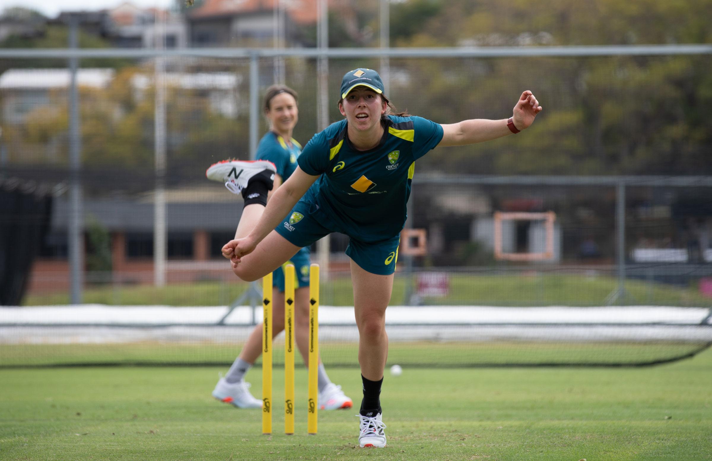 Georgia Wareham will be spinning a web for Australia // cricket.com.au