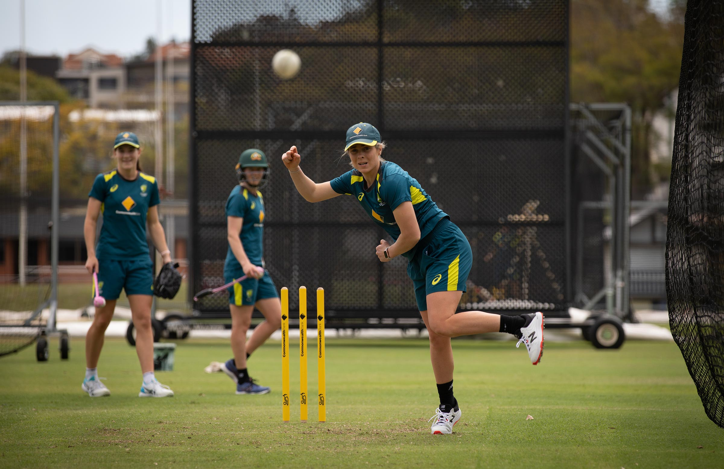 Molineux rolling the arm over at AB Field // cricket.com.au