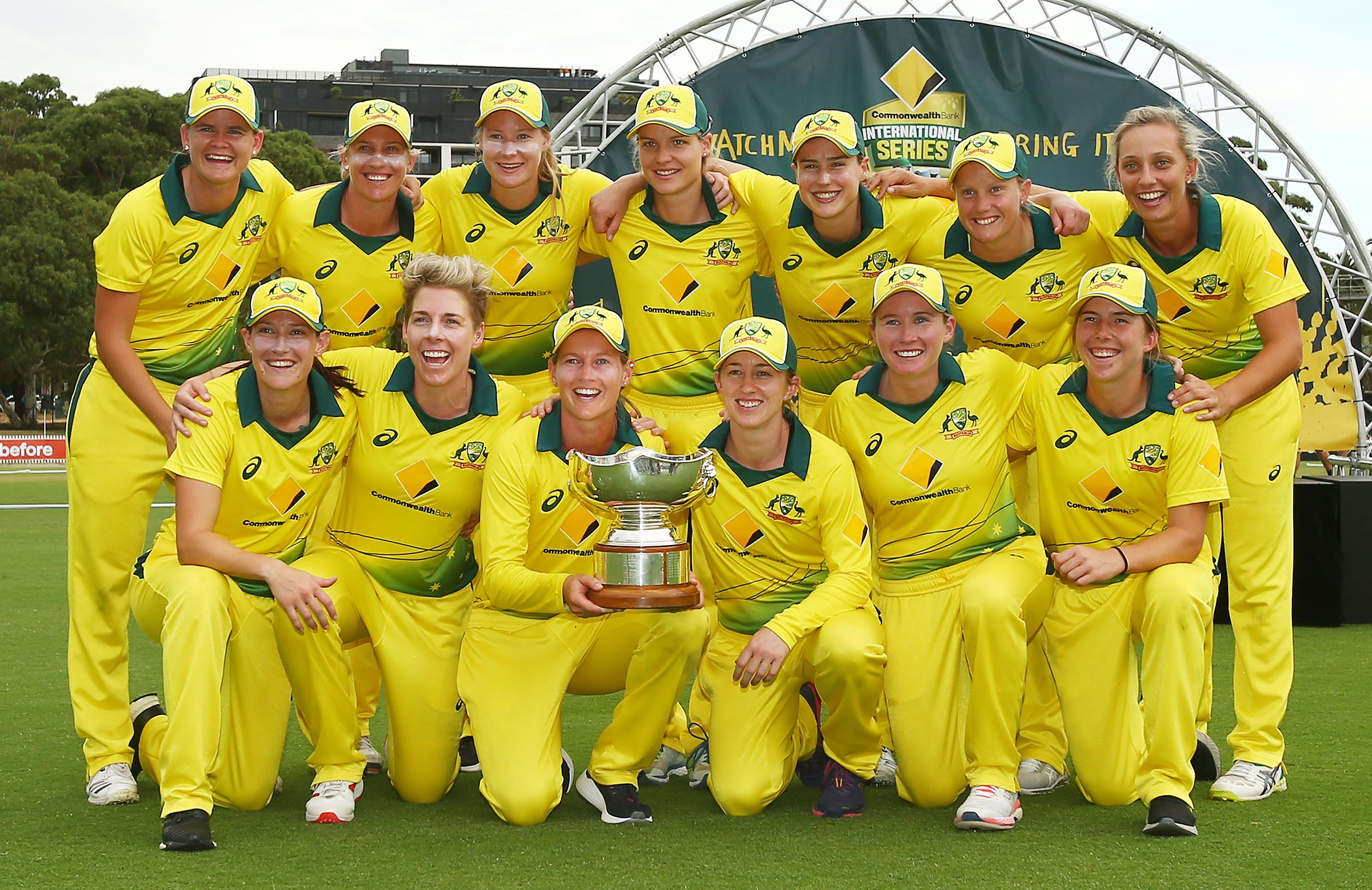 Australia have held the Rose Bowl since 2000 // Getty