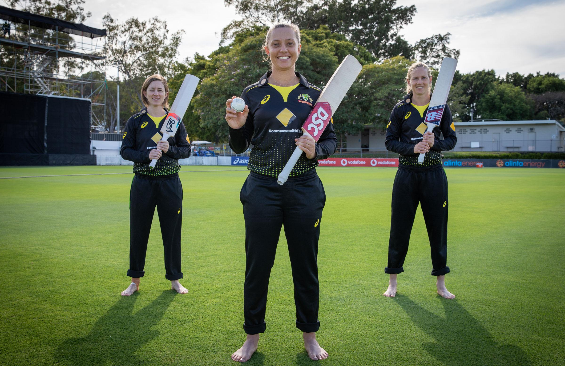 Australia will form a Barefoot Circle on Allan Border Field on Saturday // cricket.com.au