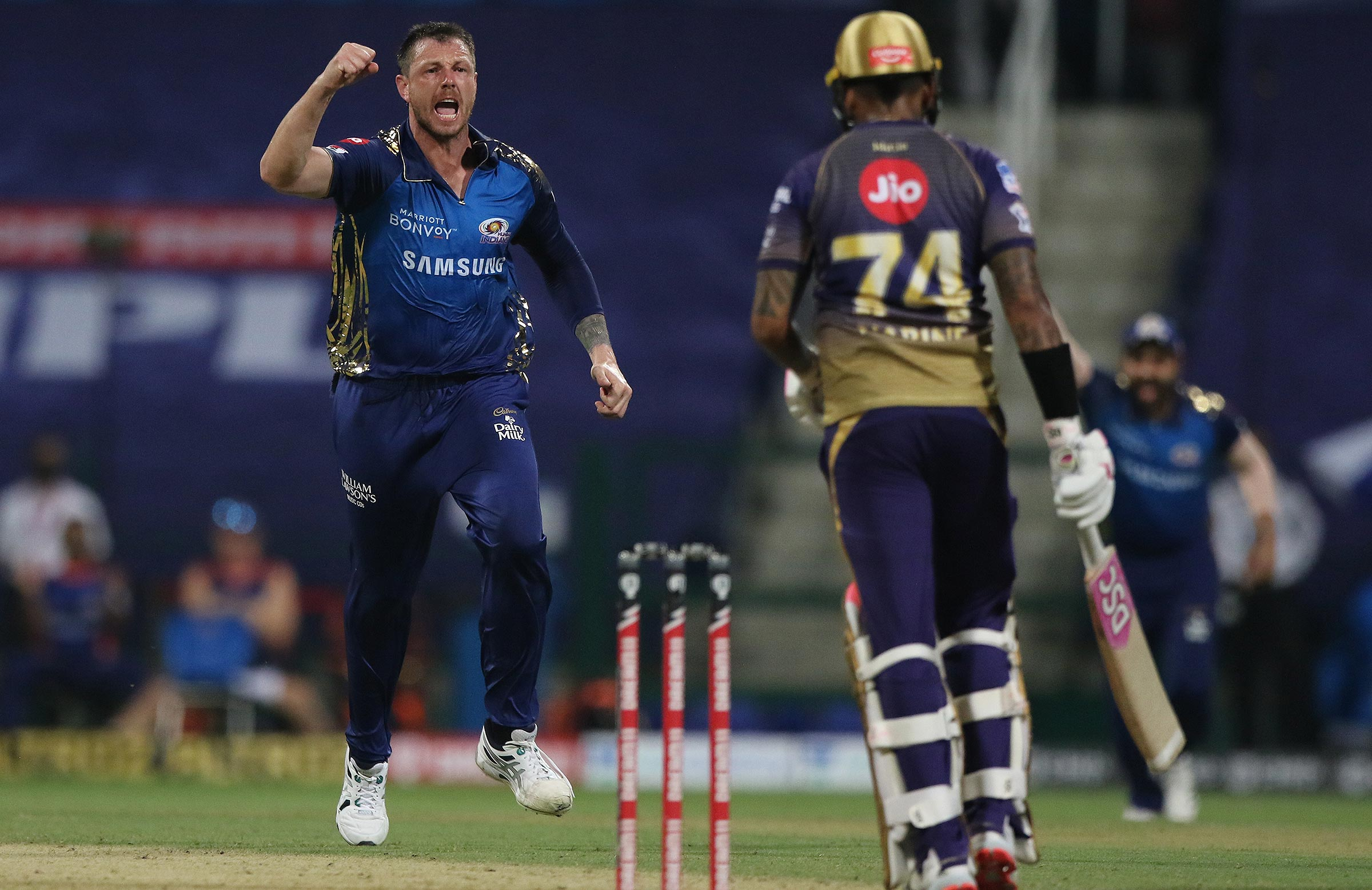 Pattinson has been in good form for the Mumbai Indians // BCCI-IPL