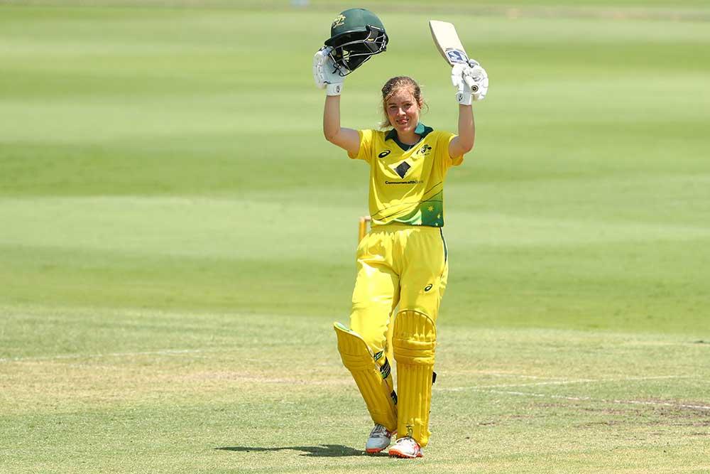 Redmayne salutes a century for Australia A last December // Getty
