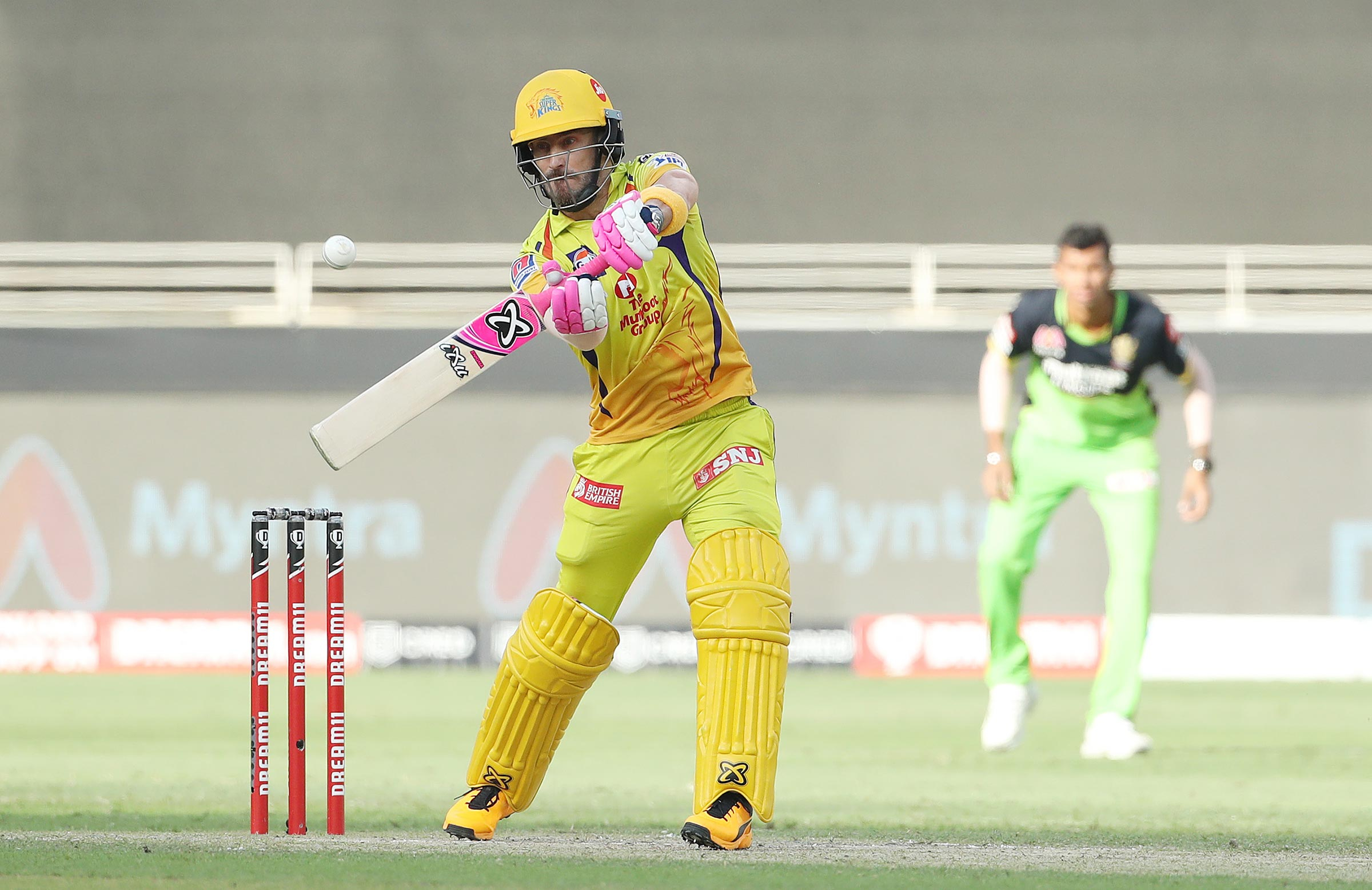Du Plessis raced out of the blocks in the run chase // BCCI-IPL