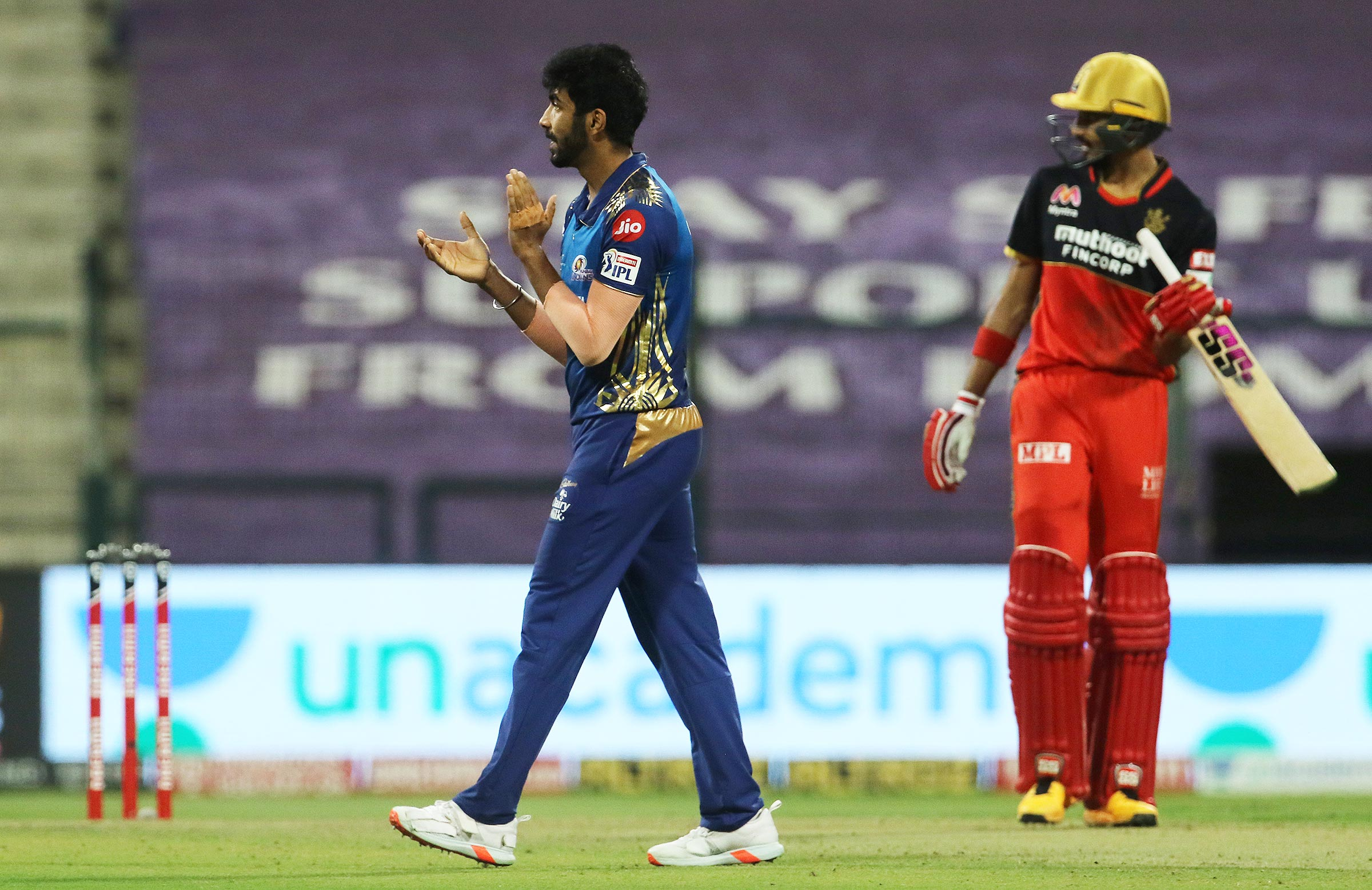 Bumrah proved to be the difference with the ball // IPL-BCCI