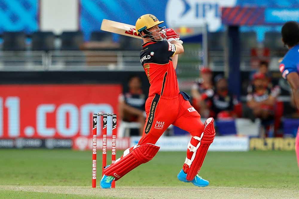 AB de Villiers hit six sixes // BCCI/IPL