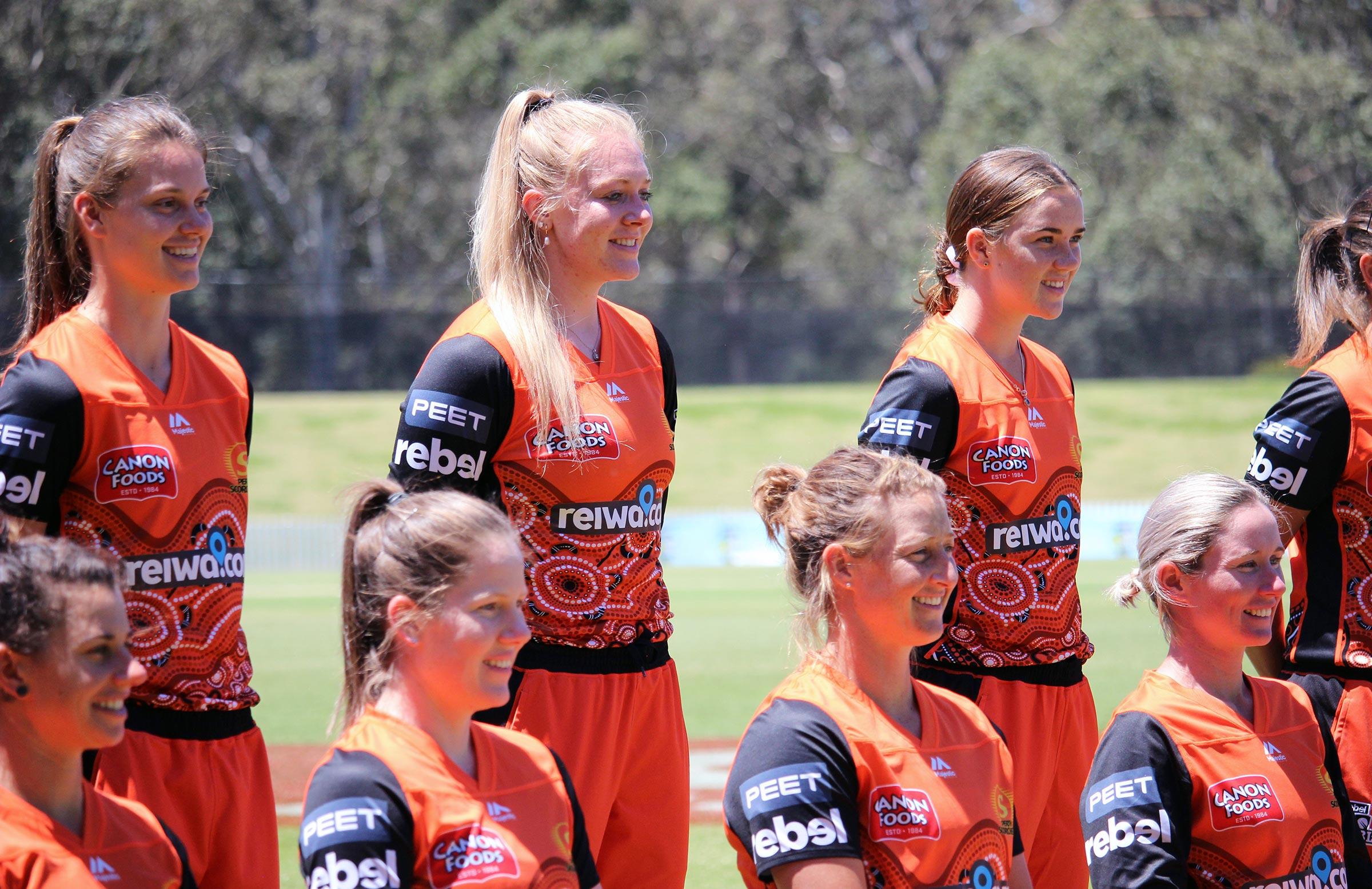 The Scorchers' Indigenous kits // cricket.com.au