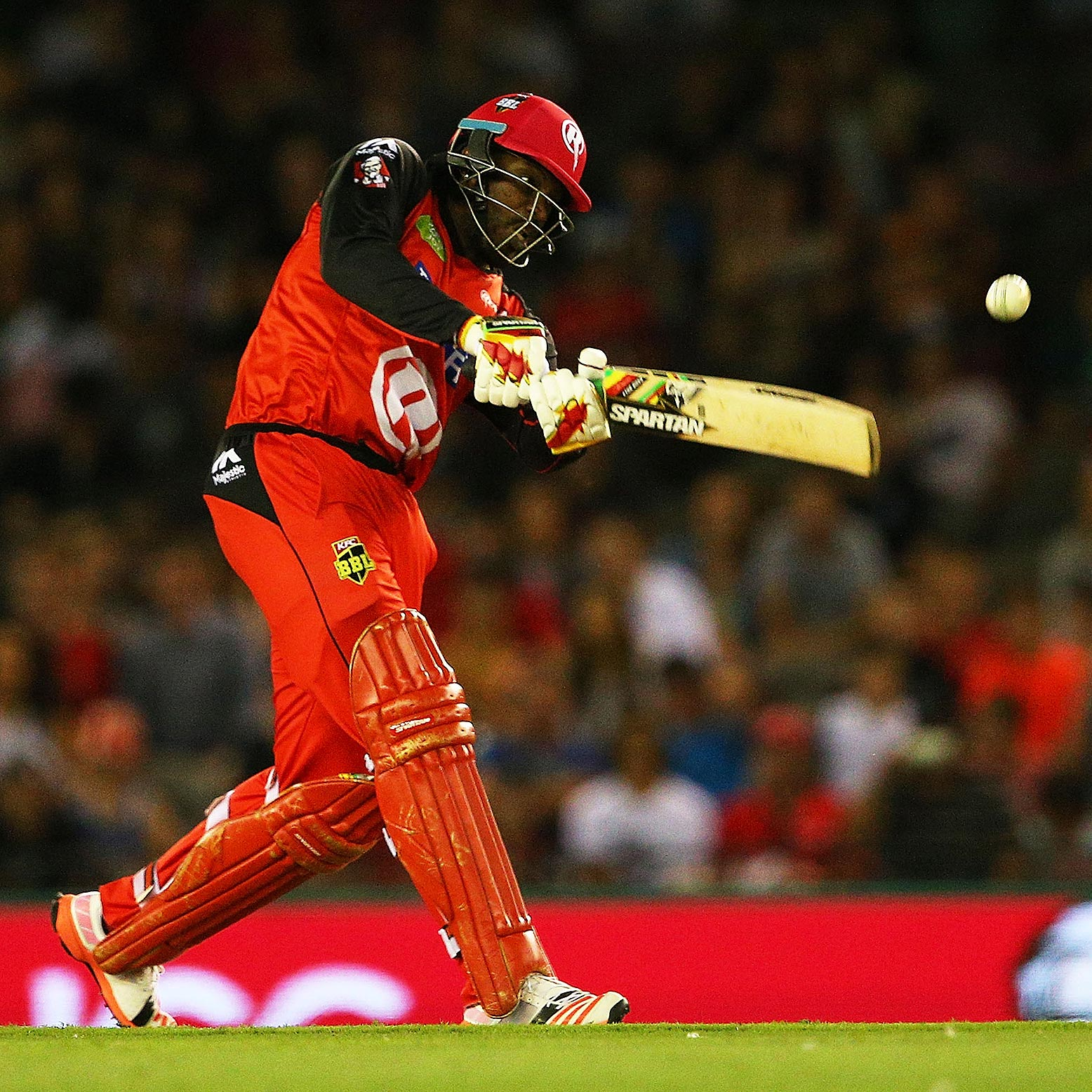Gayle launches another six // Getty
