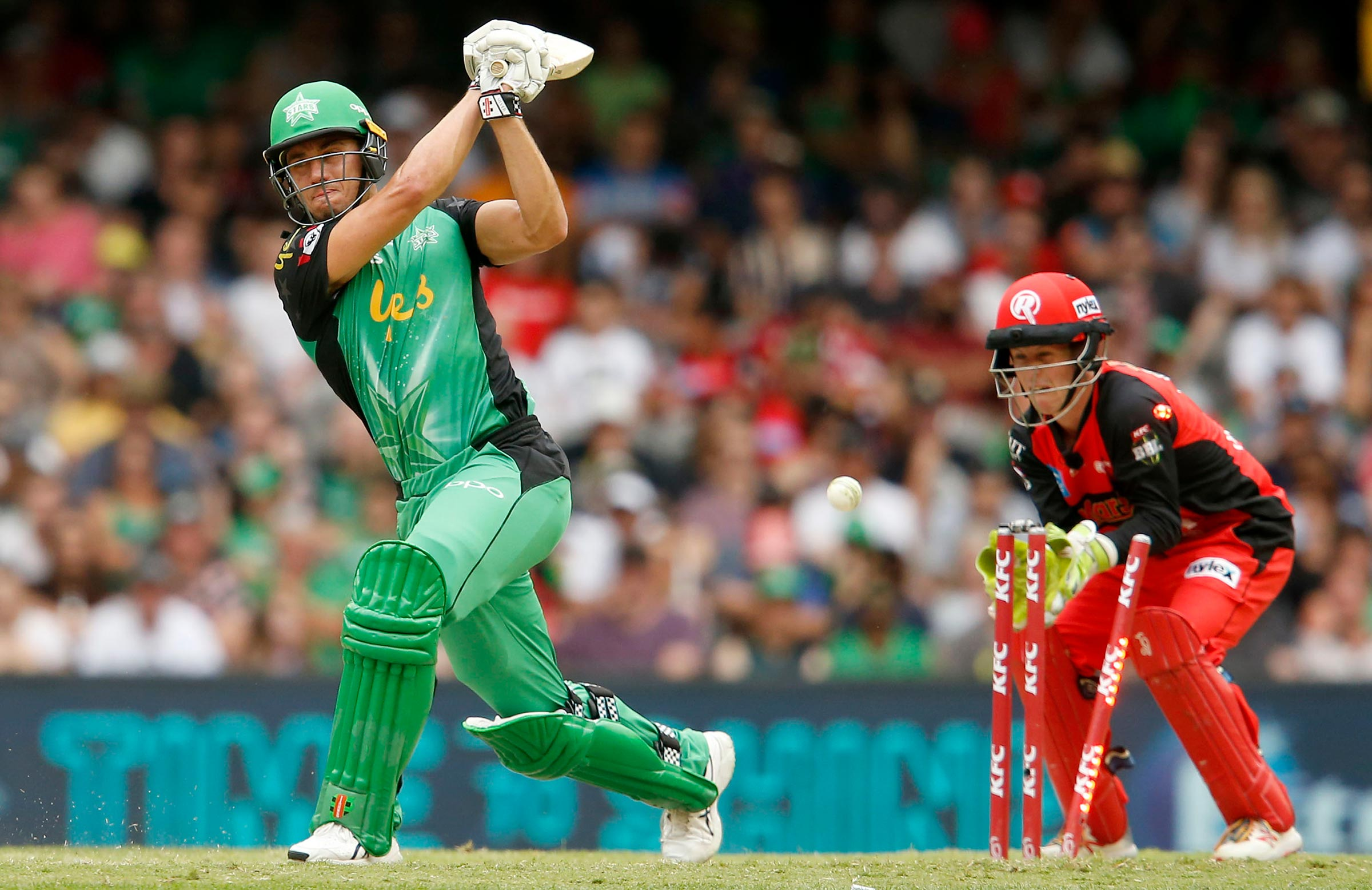 Stoinis' dismissal sparked collapse // Getty