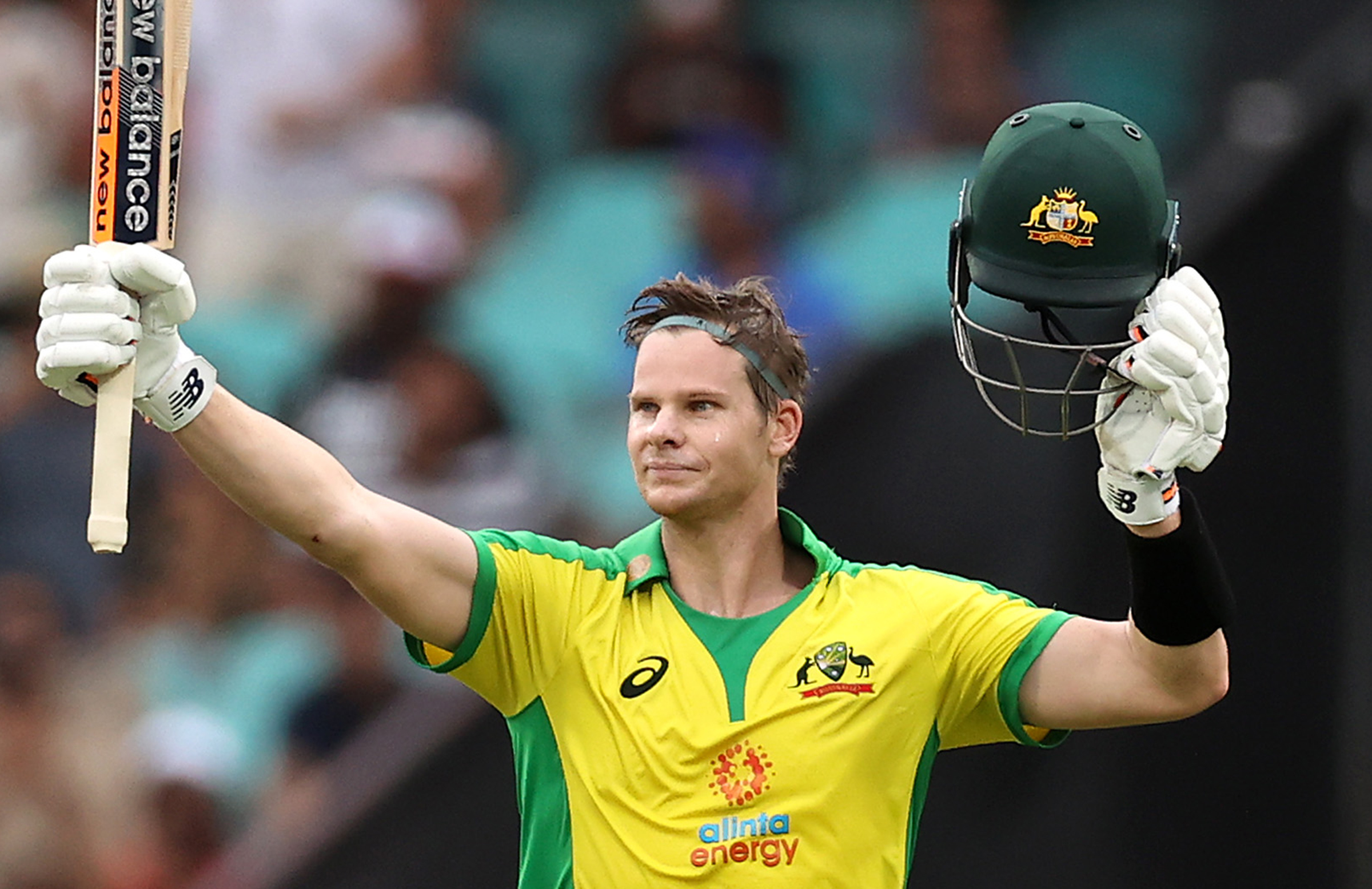 Smith scored his second 62-ball ton in as many innings // Getty