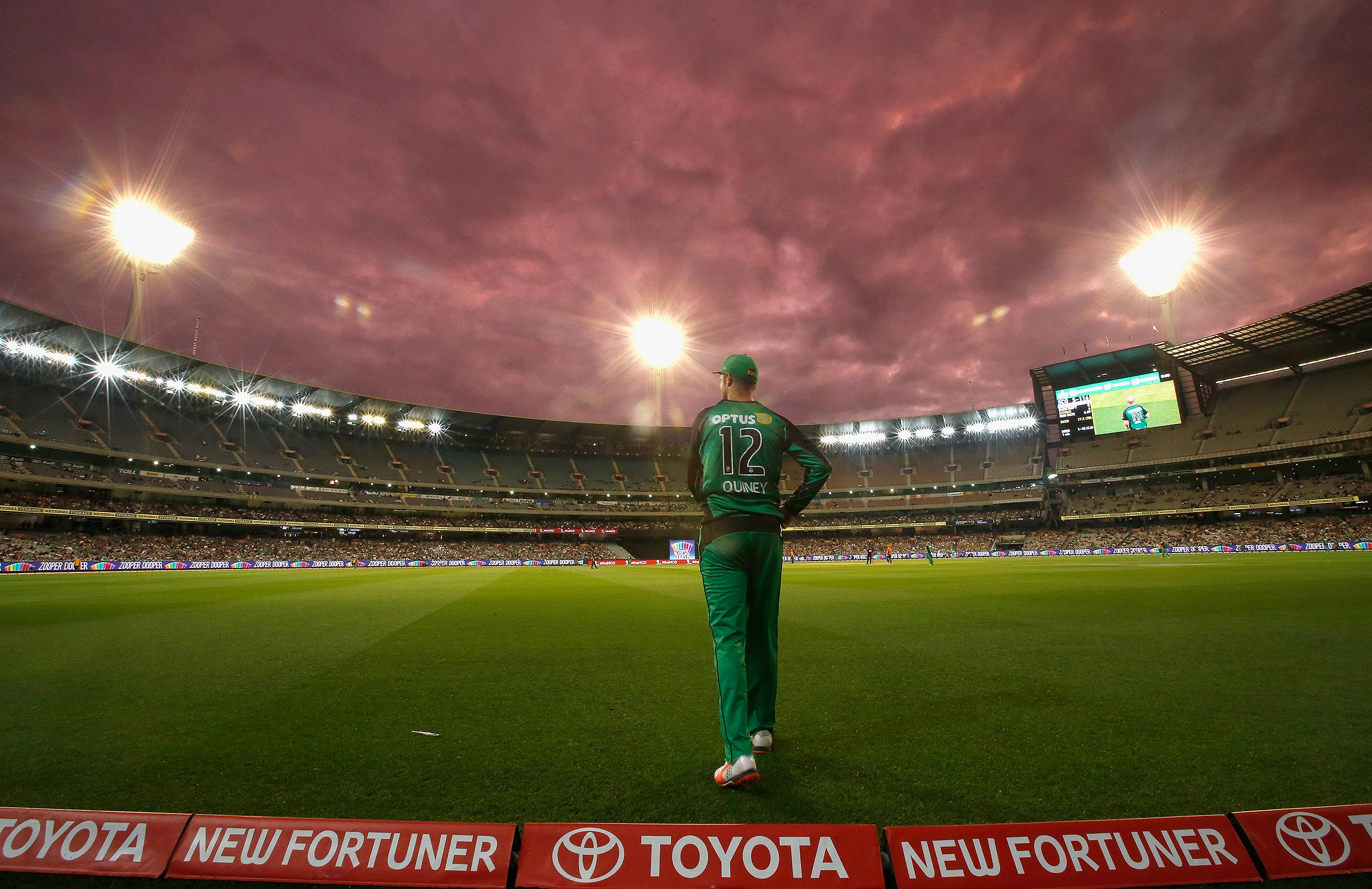 A bird's eye view at the MCG // Getty