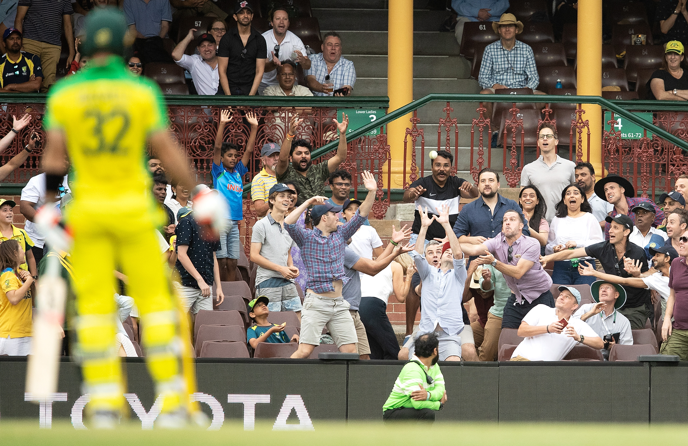 The SCG played host to big crowds less than a month ago // Getty