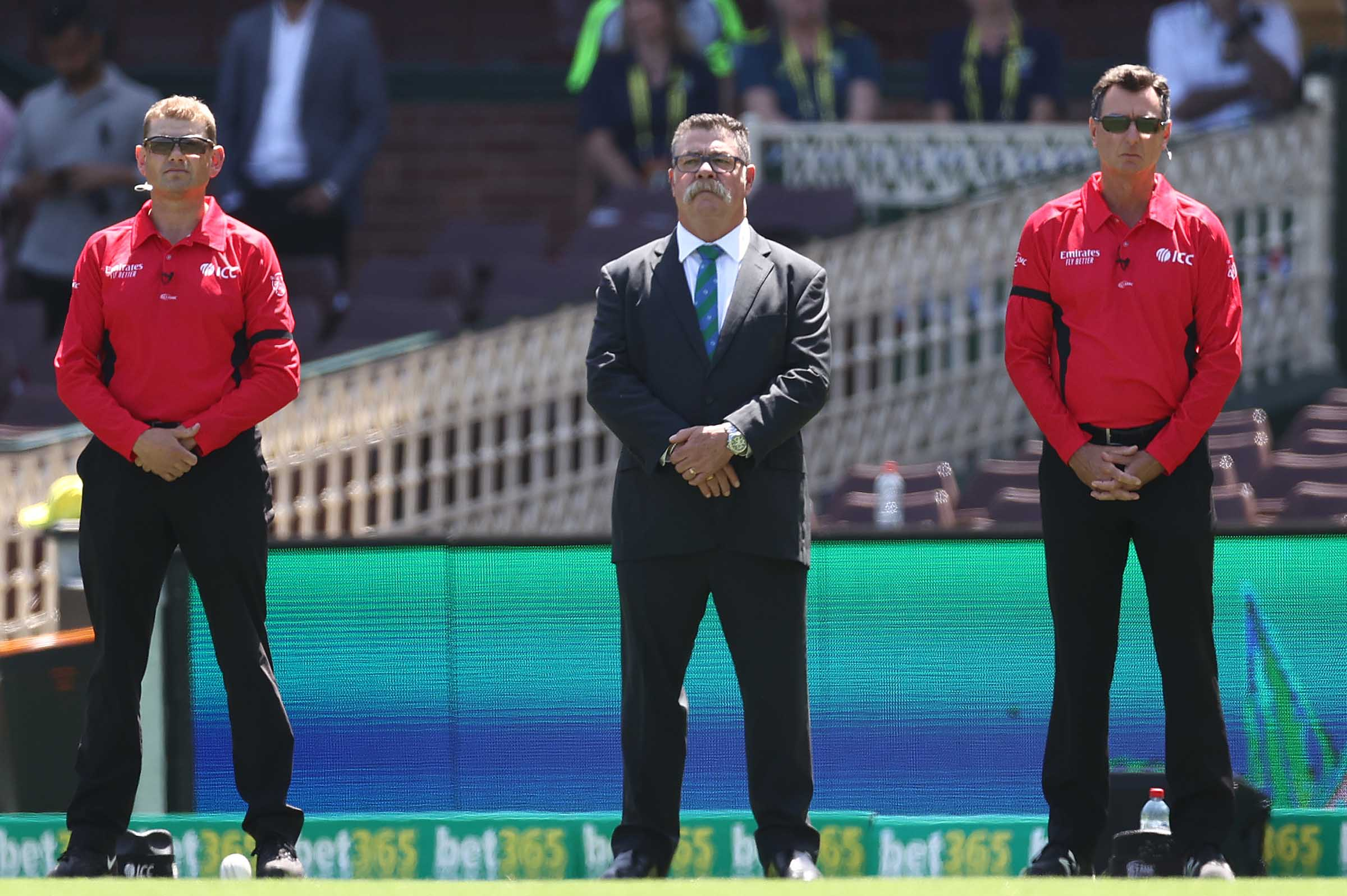 Boon in his current role of ICC match referee // Getty