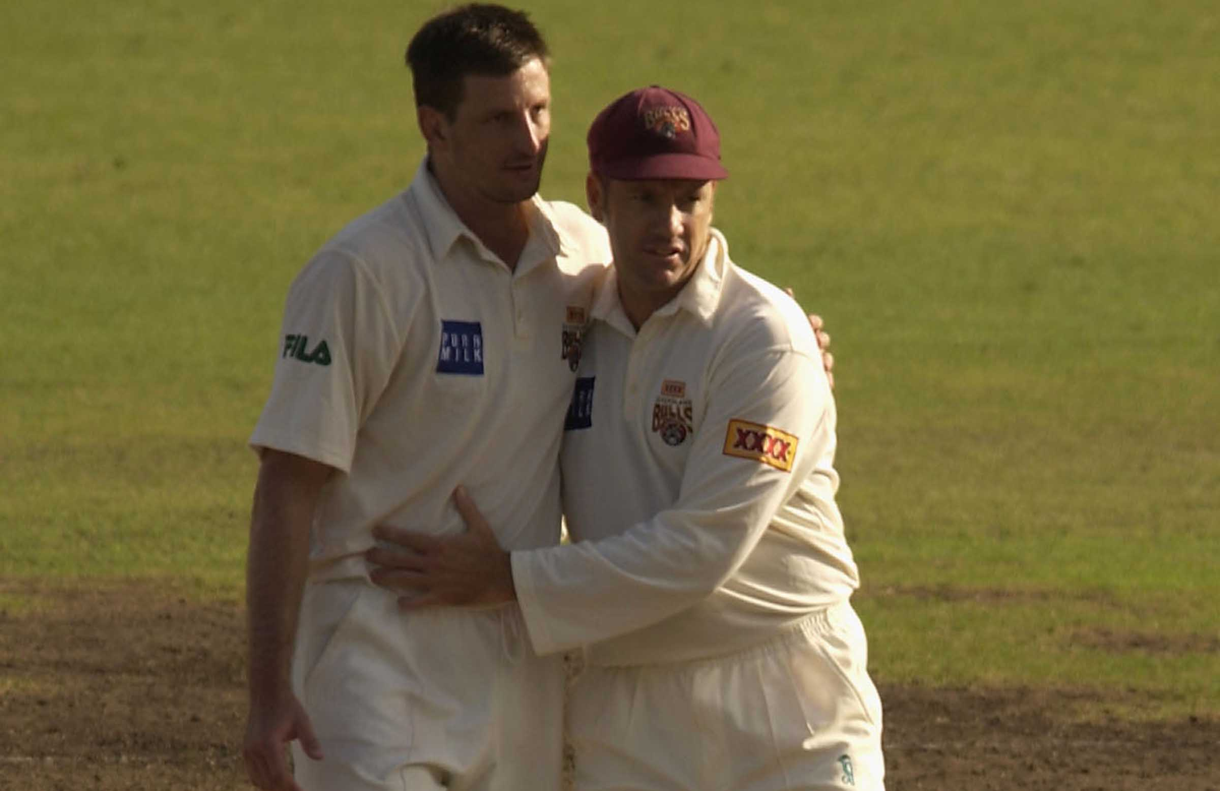 Kasprowicz and Law said 'something special' had been built at Queensland // Getty