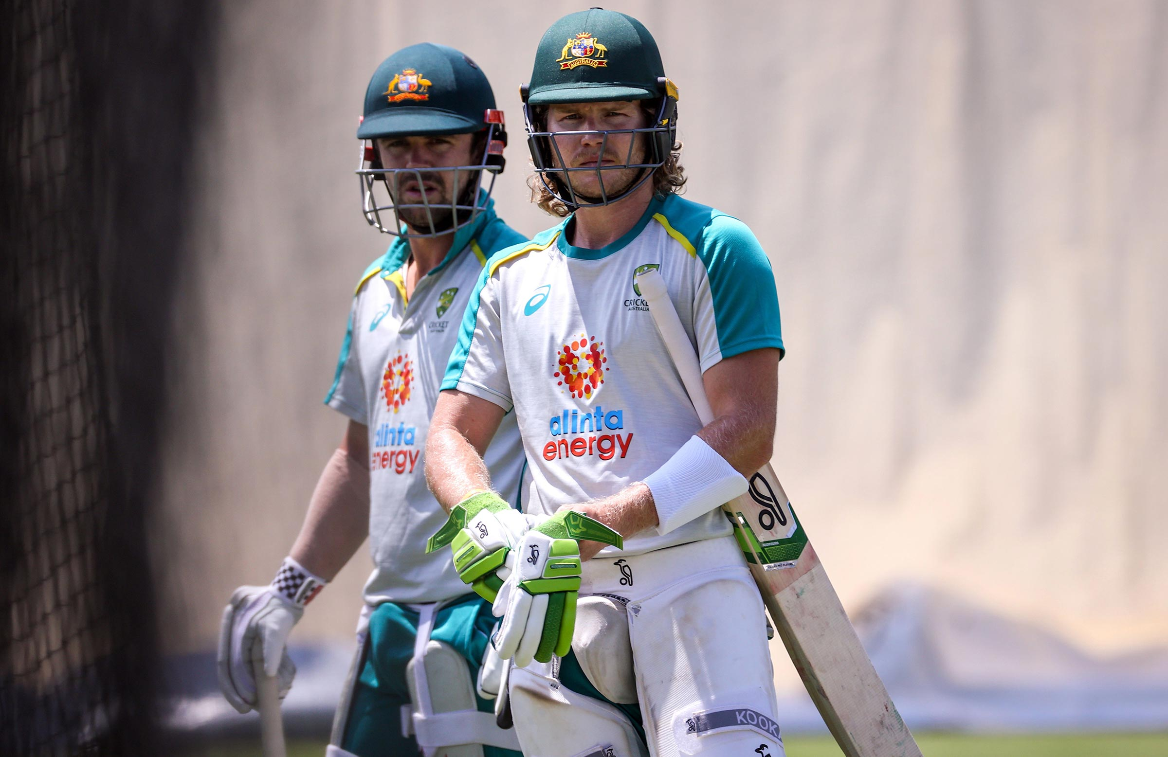 Travis Head and Pucovski at the SCG nets // Getty