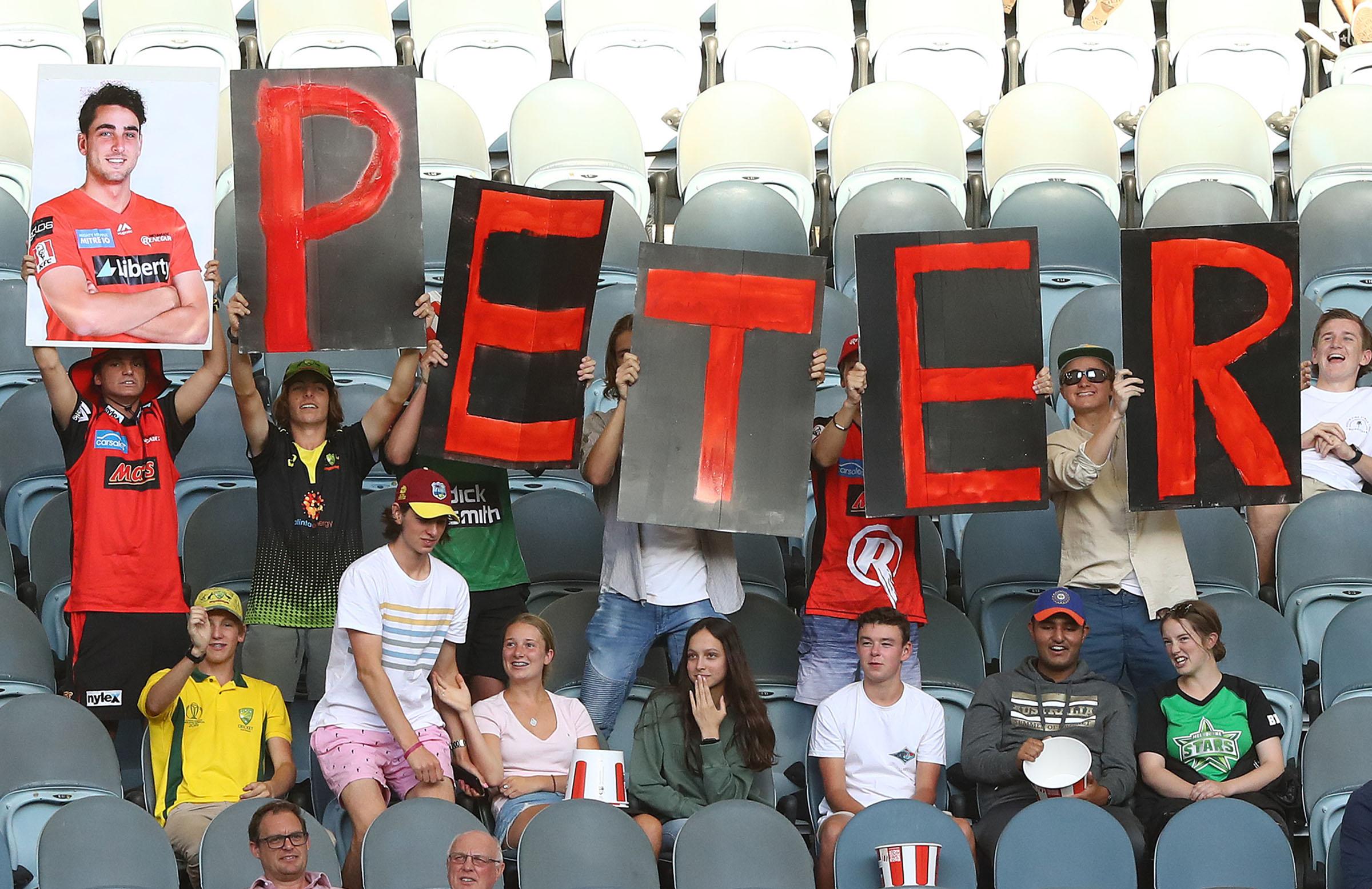 'Peter' built a cult following among Renegades fans // Getty