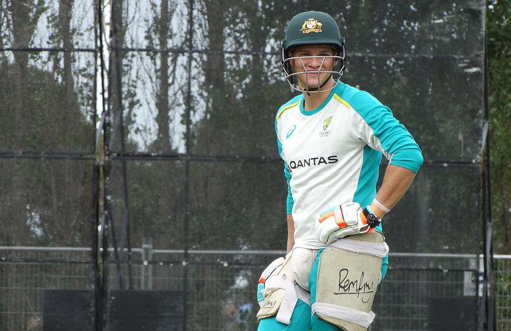 Josh Philippe at Australia training in Christchurch // cricket.com.au