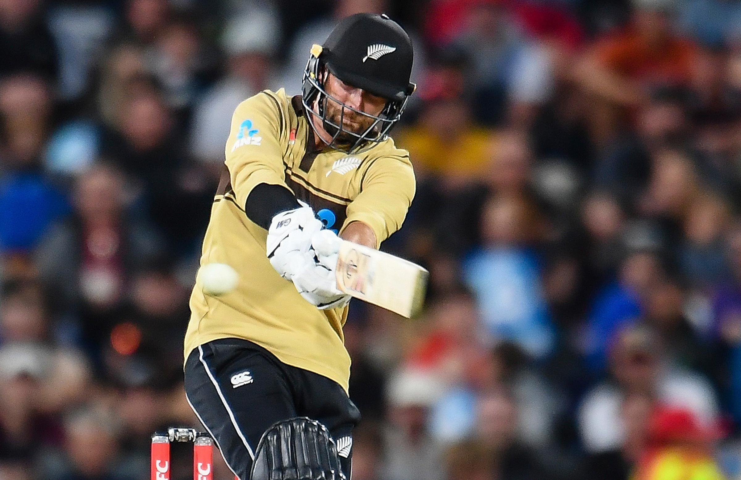 Conway fell just short of a deserved century in Christchurch // Getty