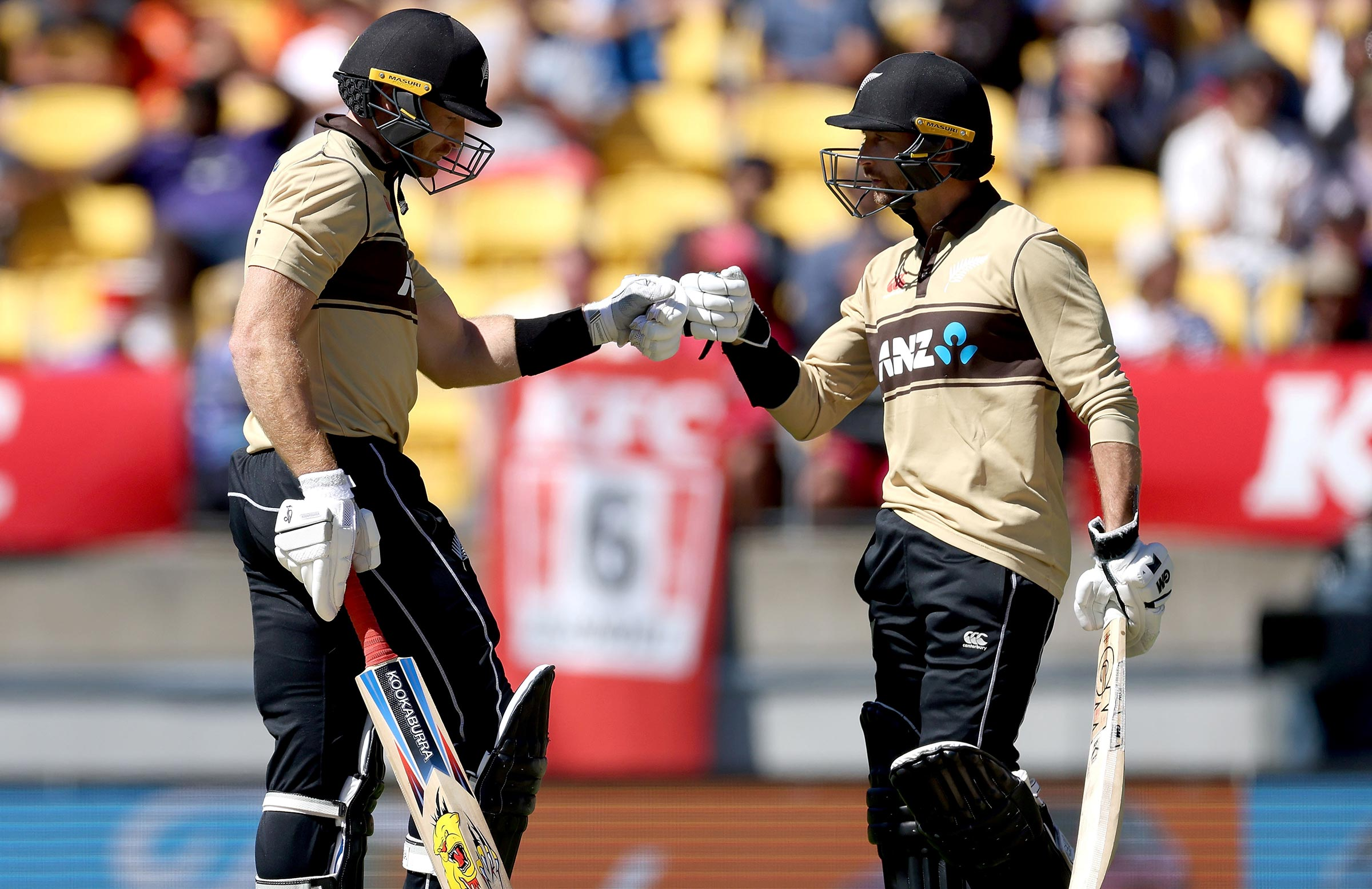 Guptill and Conway put on 106 for the first wicket // Getty