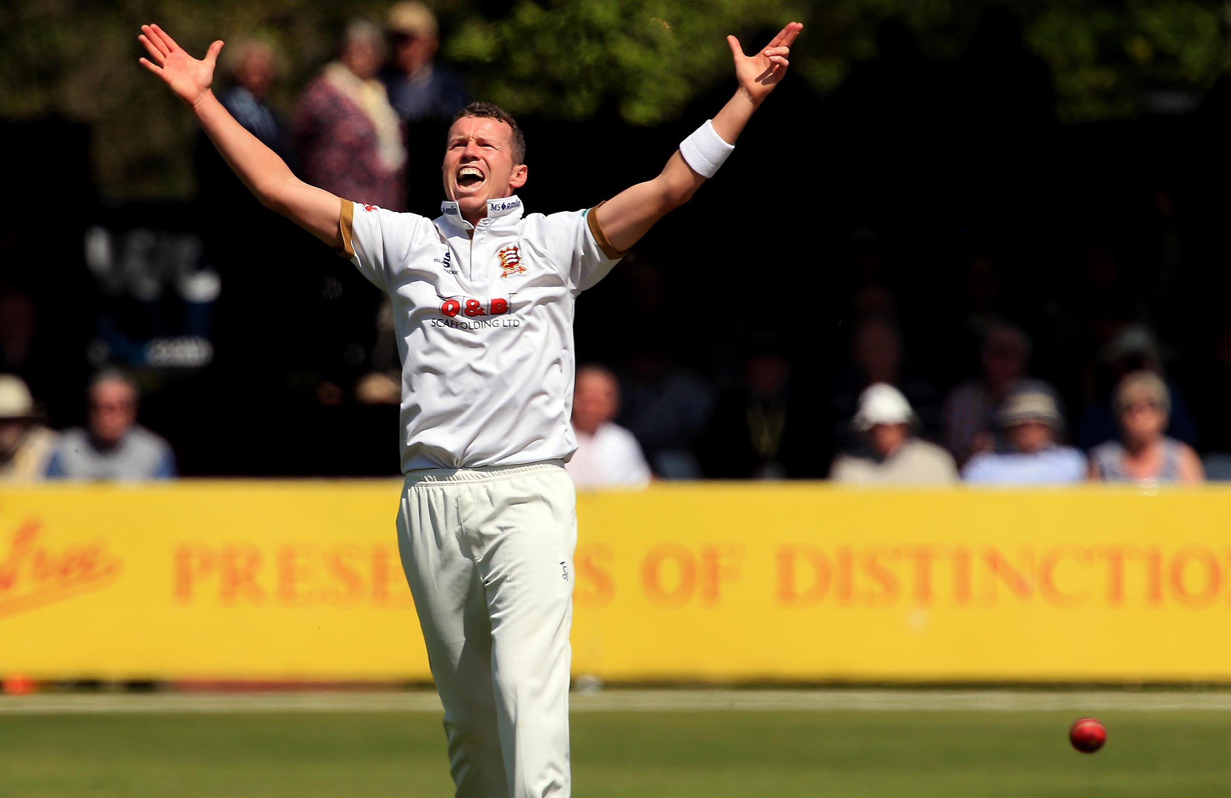 Peter Siddle will be back at Essex this year // Getty