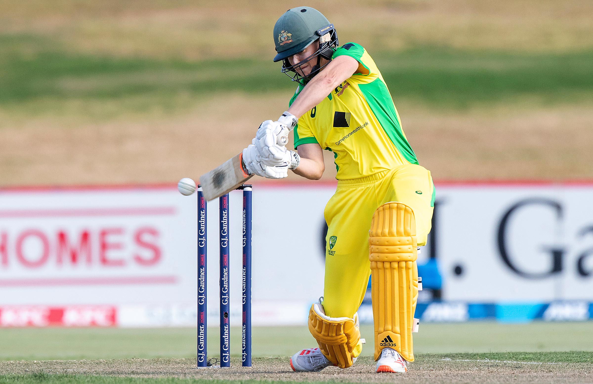 Perry steered Australia home in the run chase // Getty